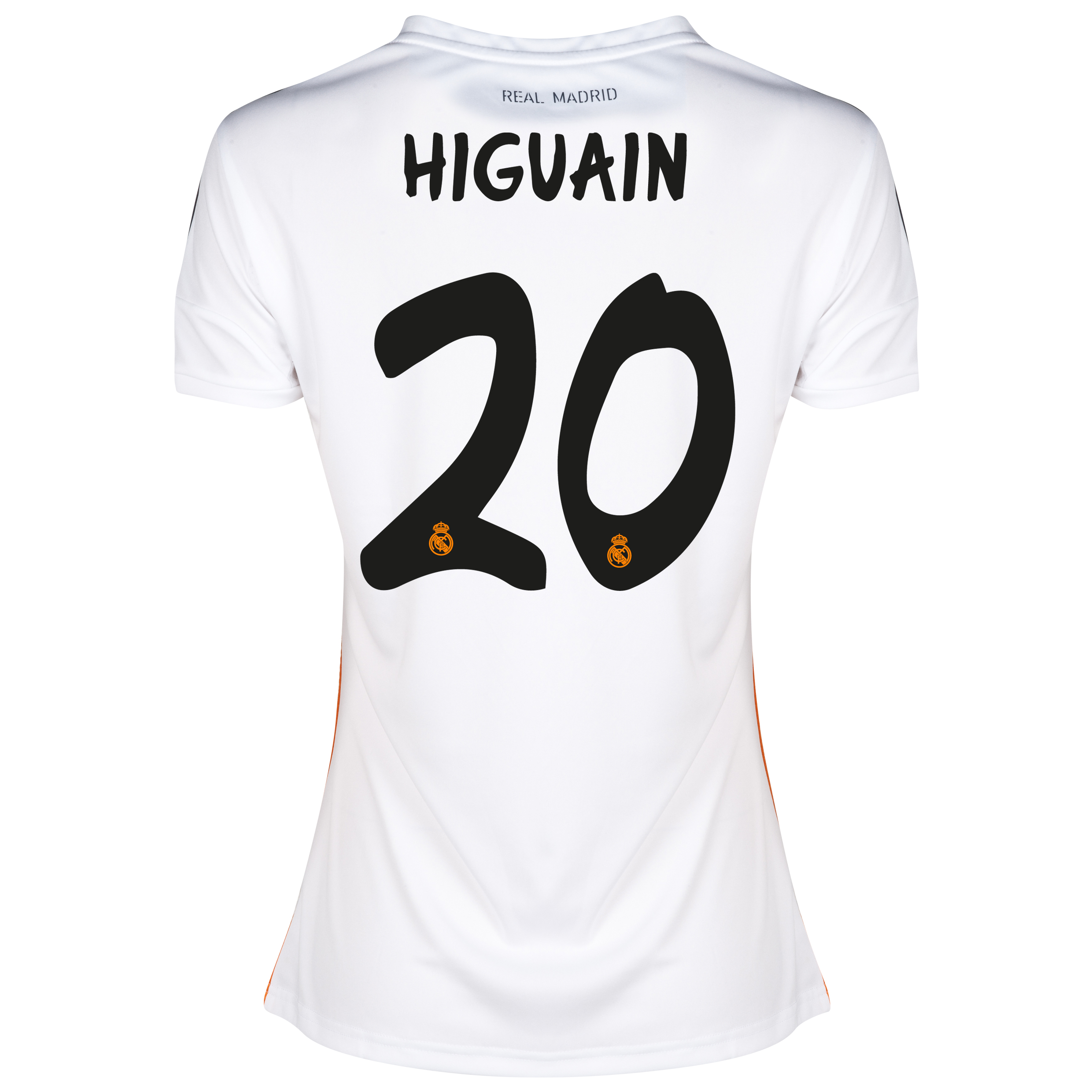 Real Madrid Home Shirt 2013/14 - Womens with Higuaín 20 printing