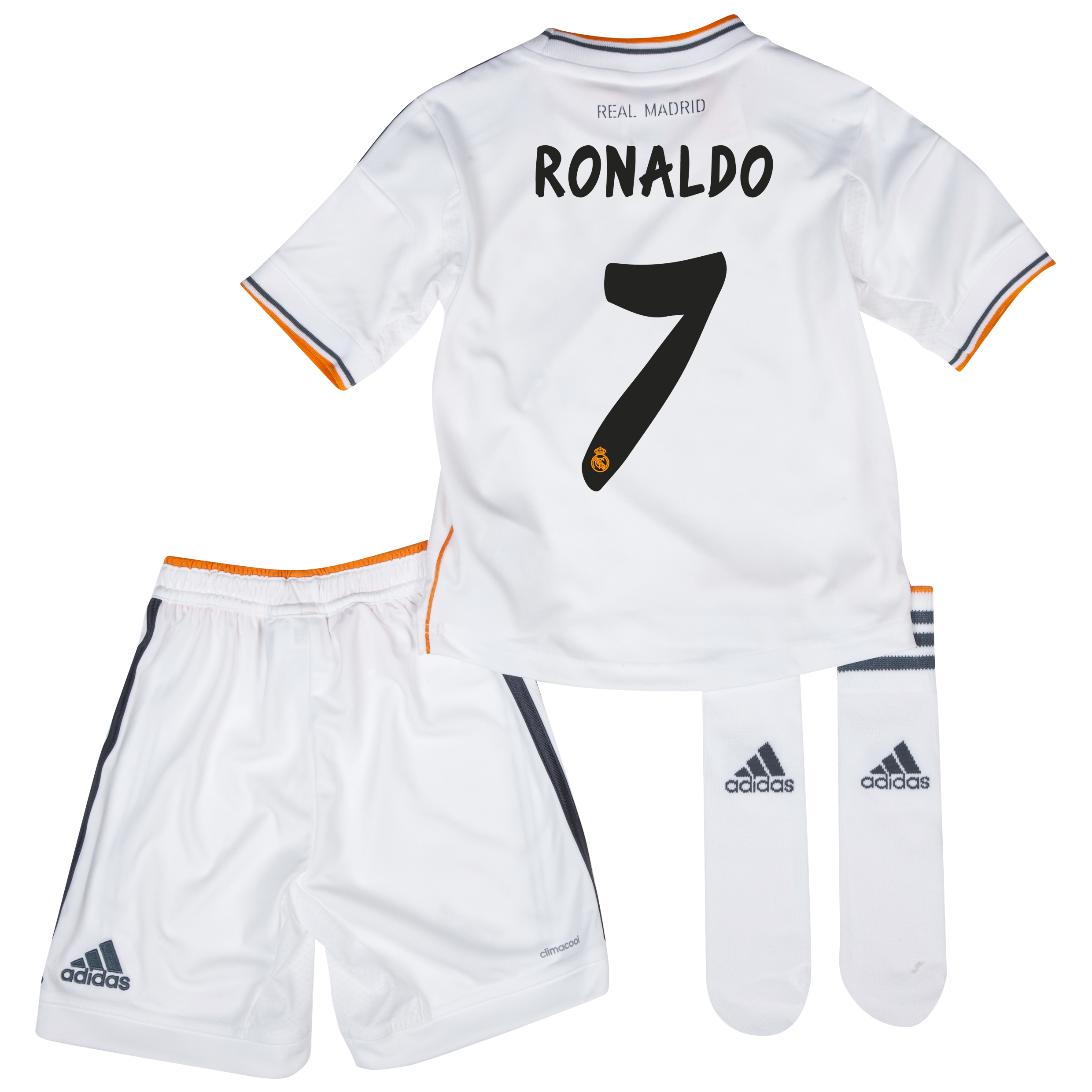 Real Madrid Home Mini Kit 2013/14 with Ronaldo 7 printing