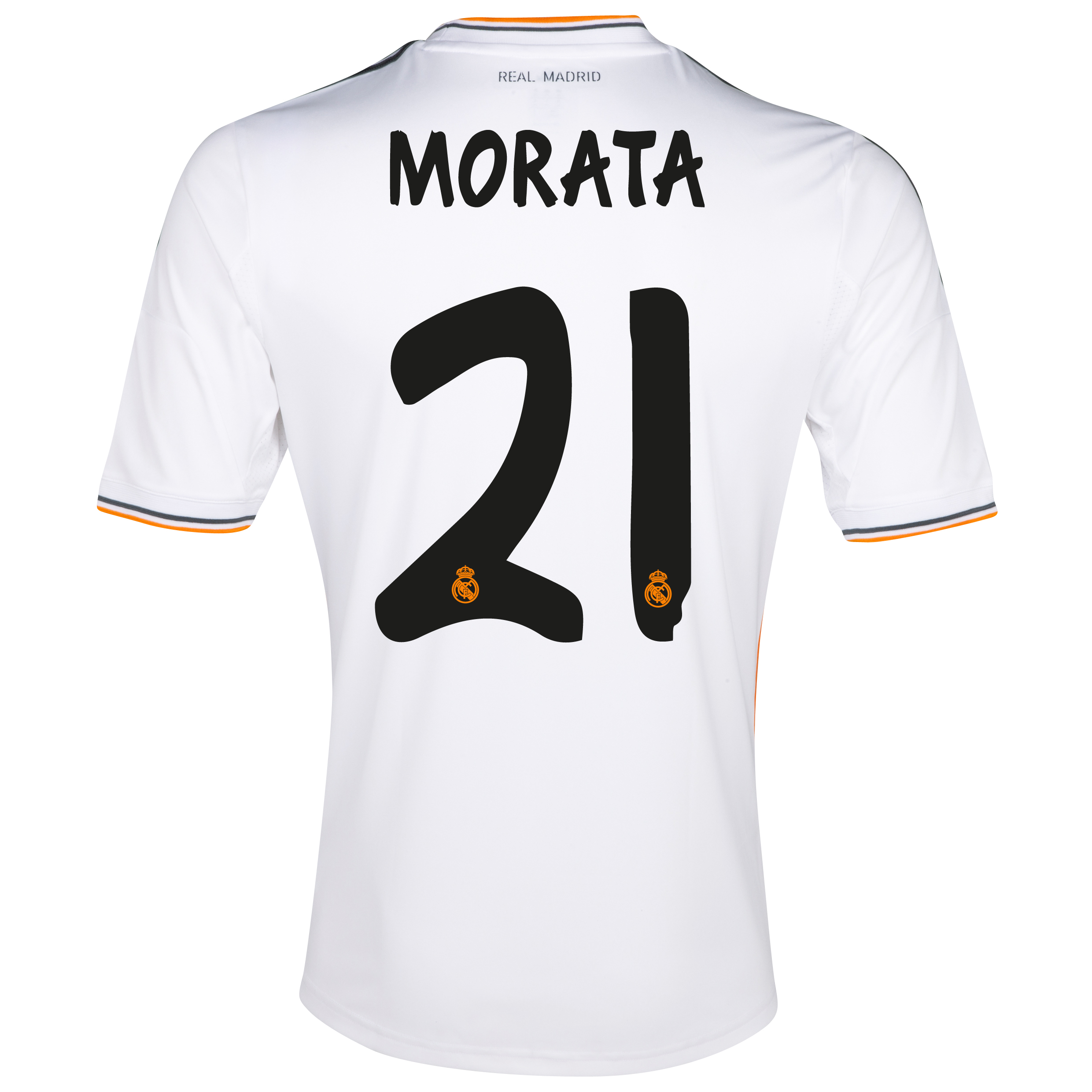 Real Madrid Home Shirt 2013/14 - Kids with Morata 29 printing