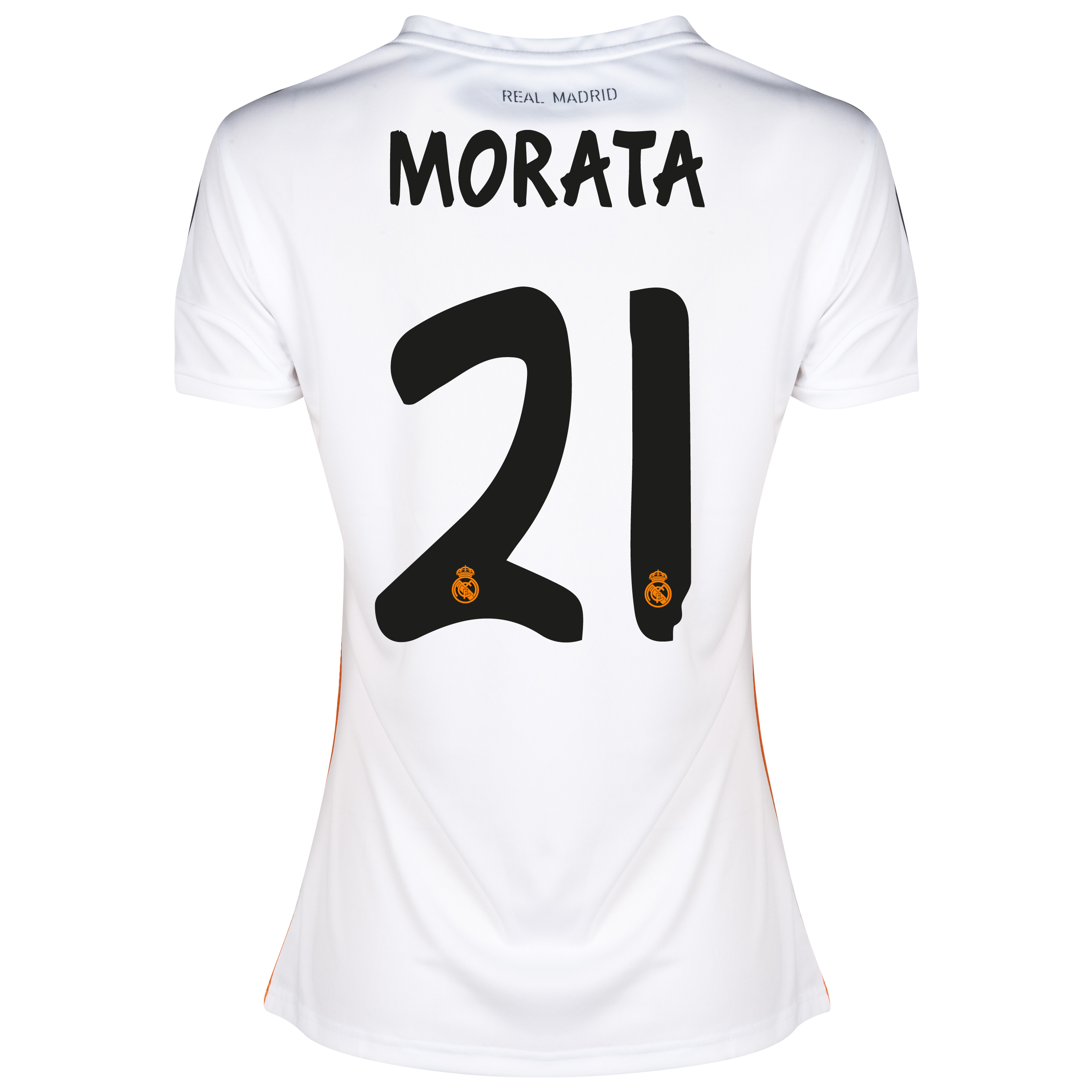 Real Madrid Home Shirt 2013/14 - Womens with Morata 29 printing