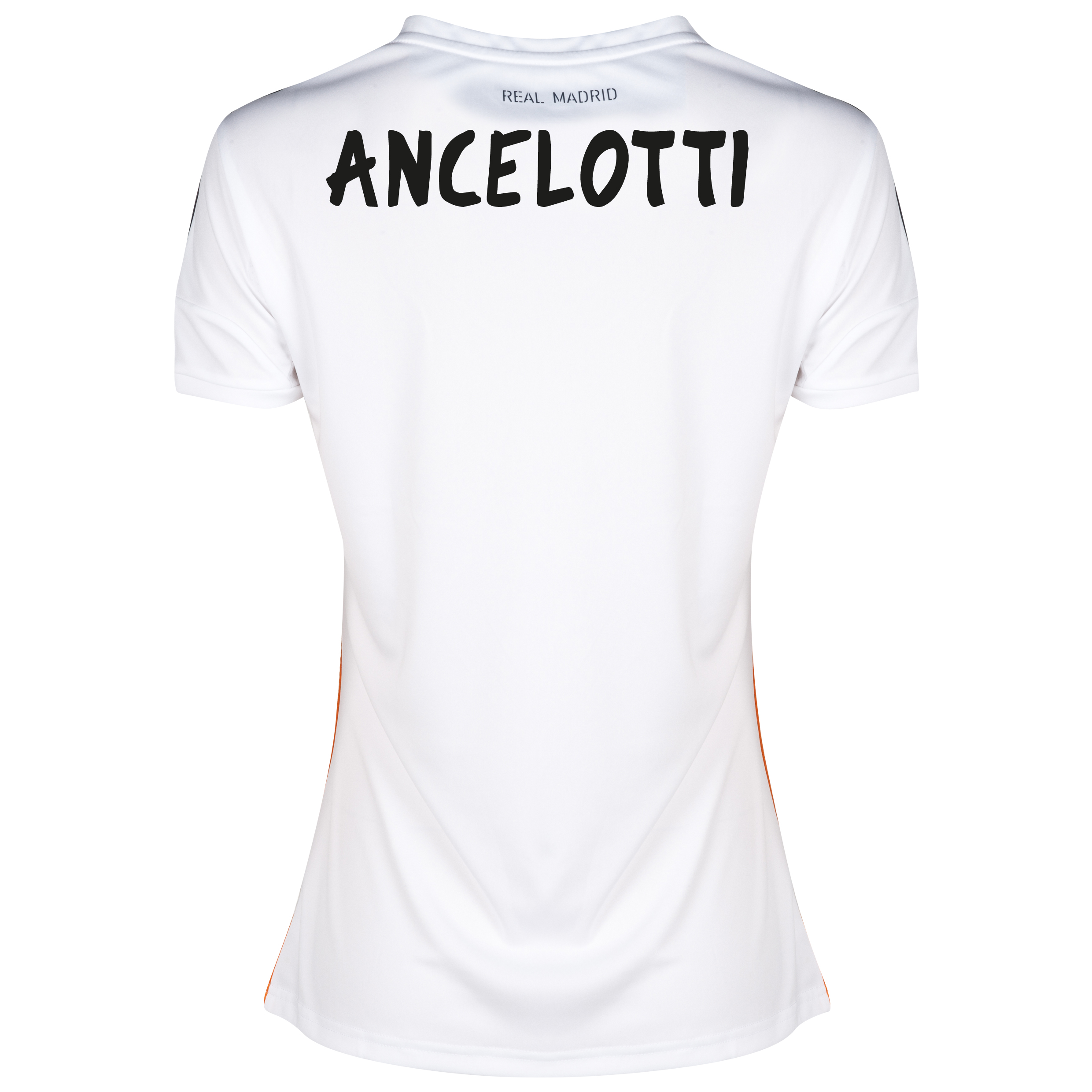 Real Madrid Home Shirt 2013/14 - Womens with Ancelotti  printing