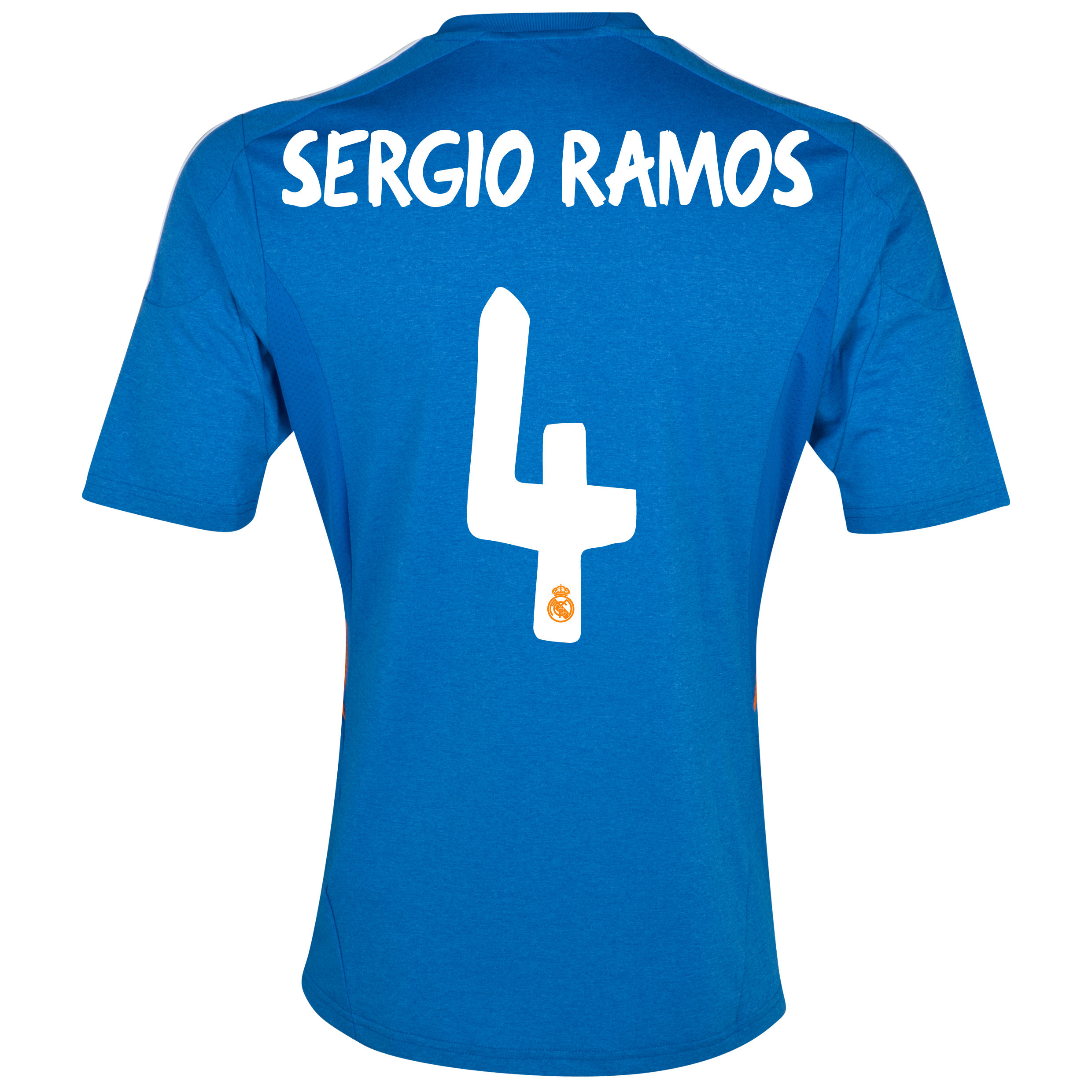 Real Madrid Away Shirt 2013/14 with Sergio Ramos 4 printing