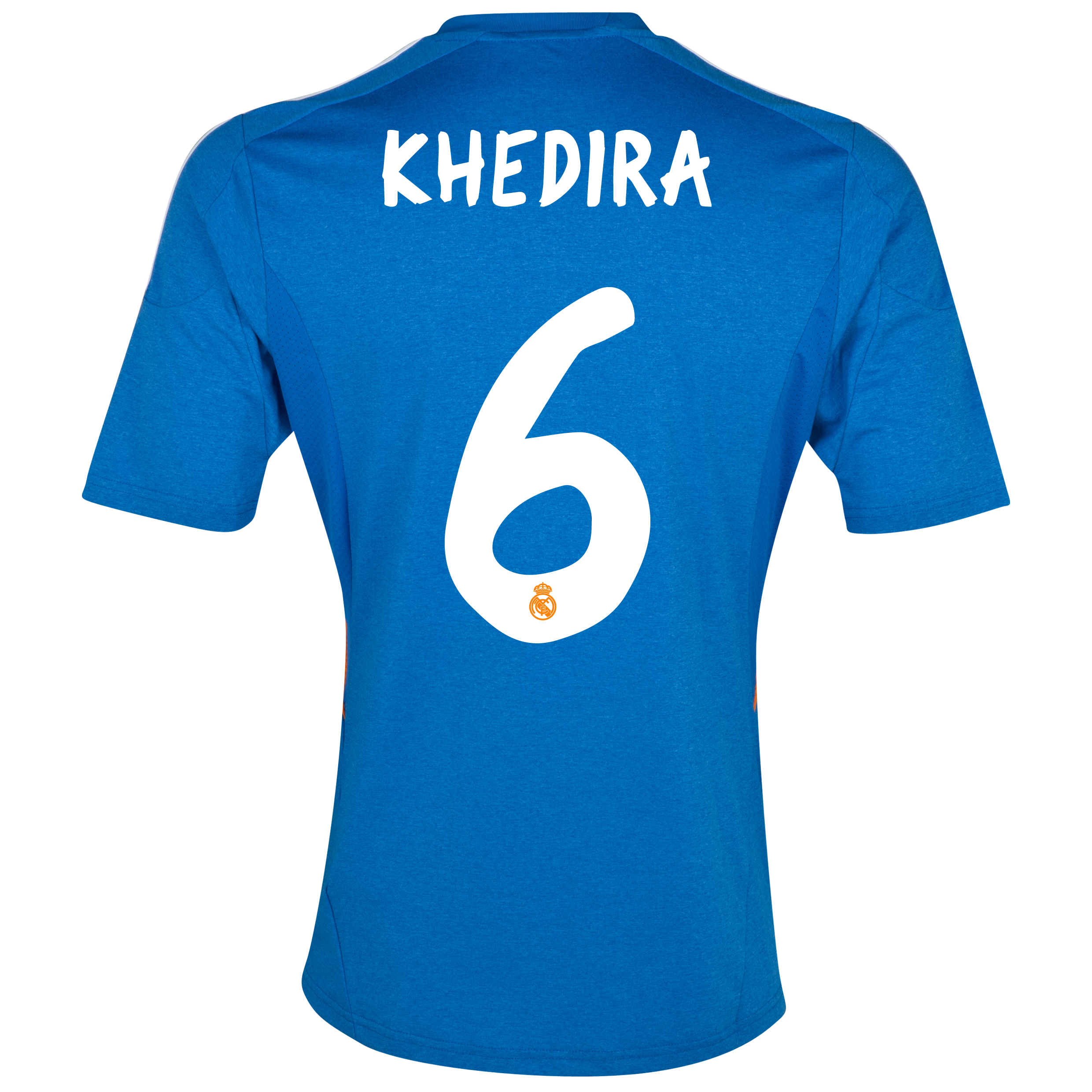 Real Madrid Away Shirt 2013/14 with Khedira 6 printing