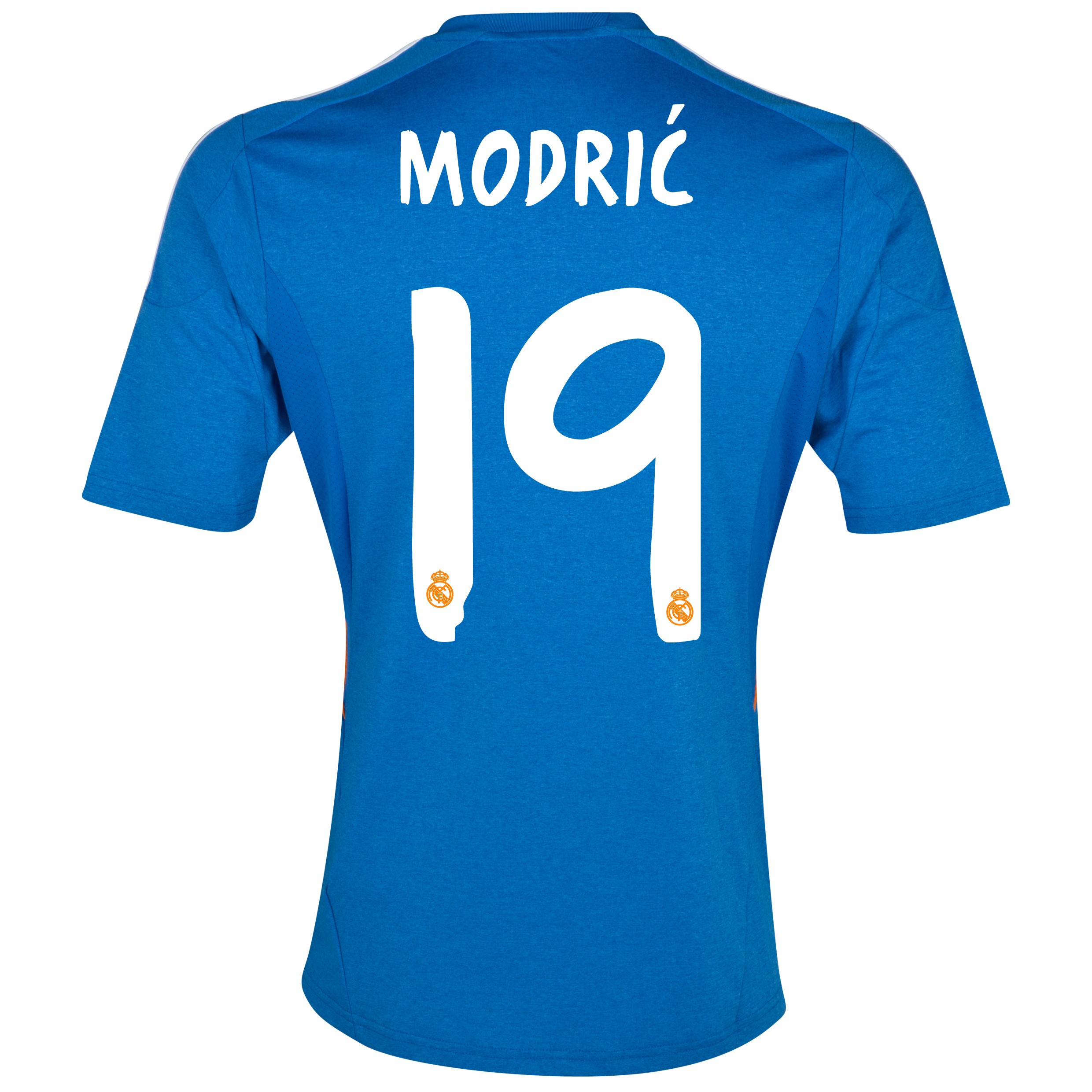 Real Madrid Away Shirt 2013/14 with Modric 19 printing