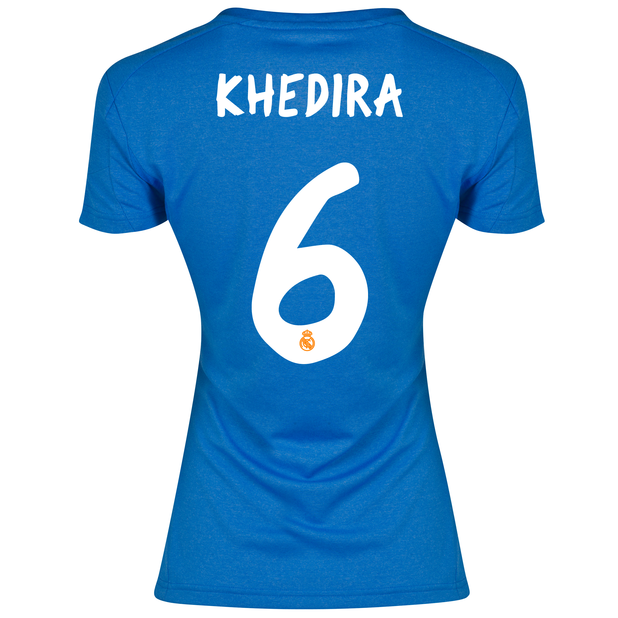 Real Madrid Away Shirt 2013/14 - Womens with Khedira 6 printing