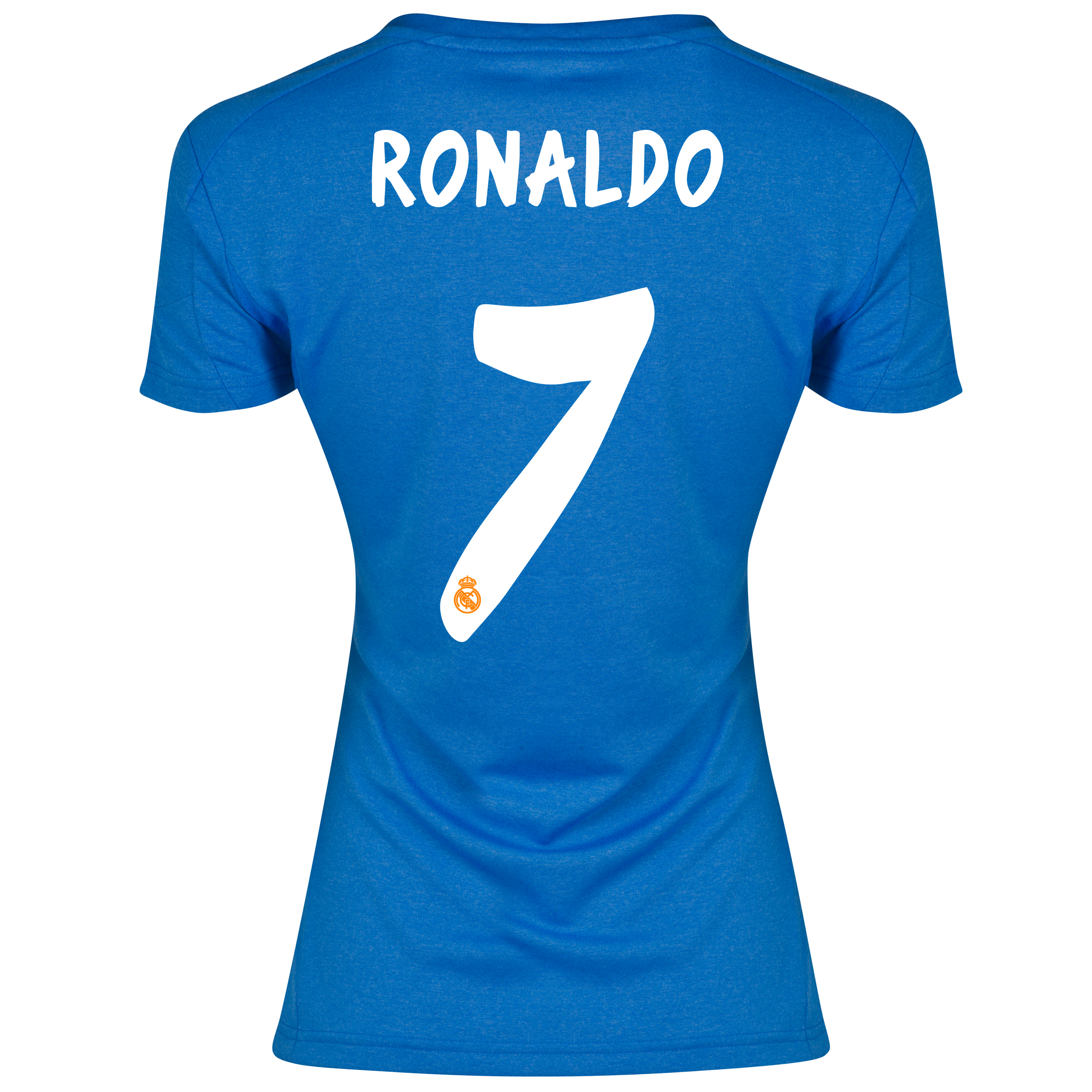Real Madrid Away Shirt 2013/14 - Womens with Ronaldo 7 printing