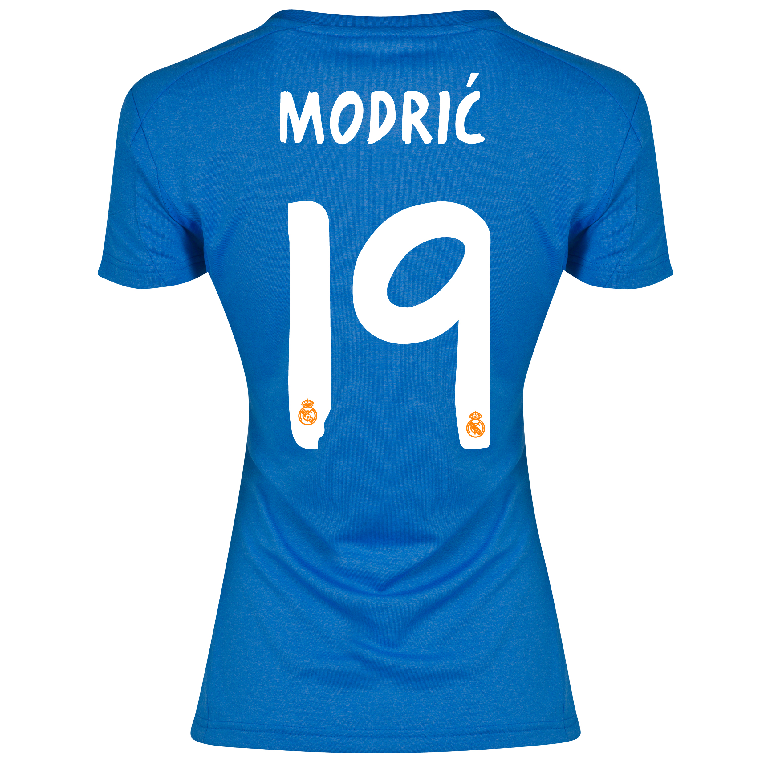 Real Madrid Away Shirt 2013/14 - Womens with Modric 19 printing