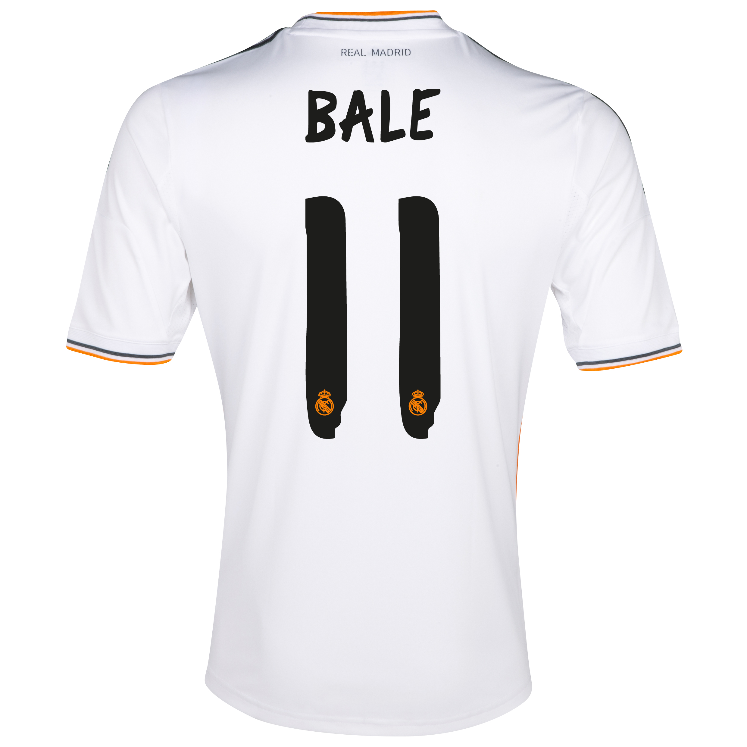 Real Madrid Home Shirt 2013/14 with Bale 11 printing