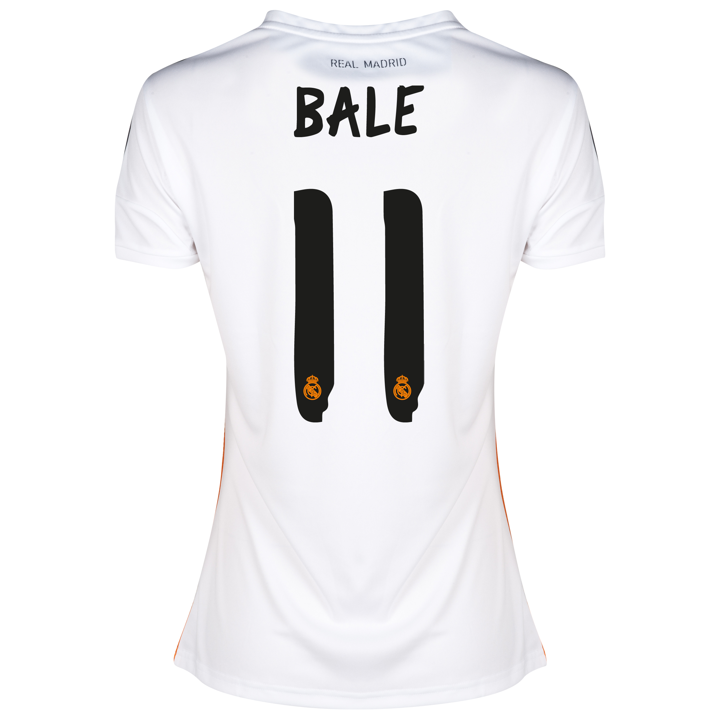 Real Madrid Home Shirt 2013/14 - Womens with Bale 11 printing
