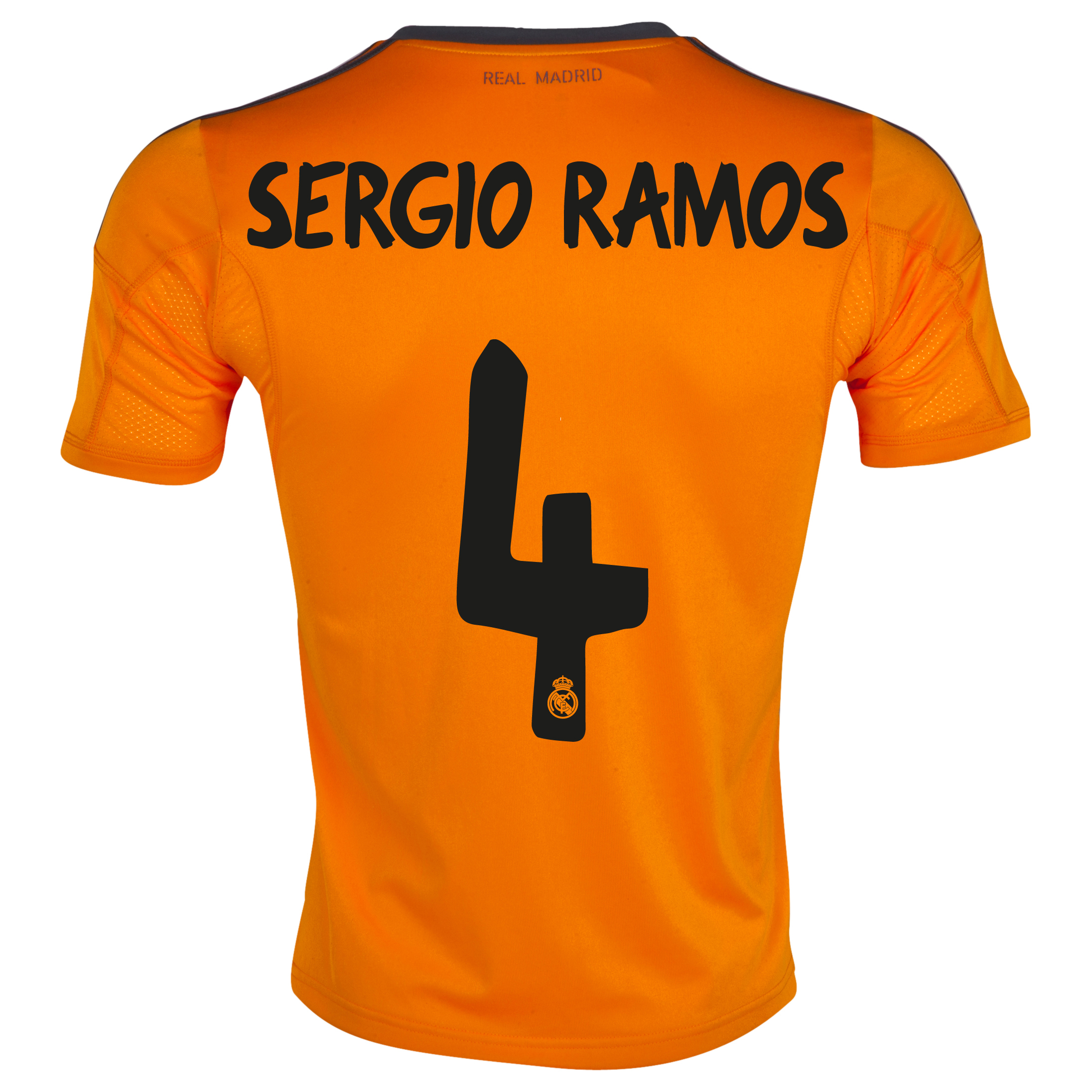 Real Madrid Third Shirt 2013/14 with Sergio Ramos 4 printing