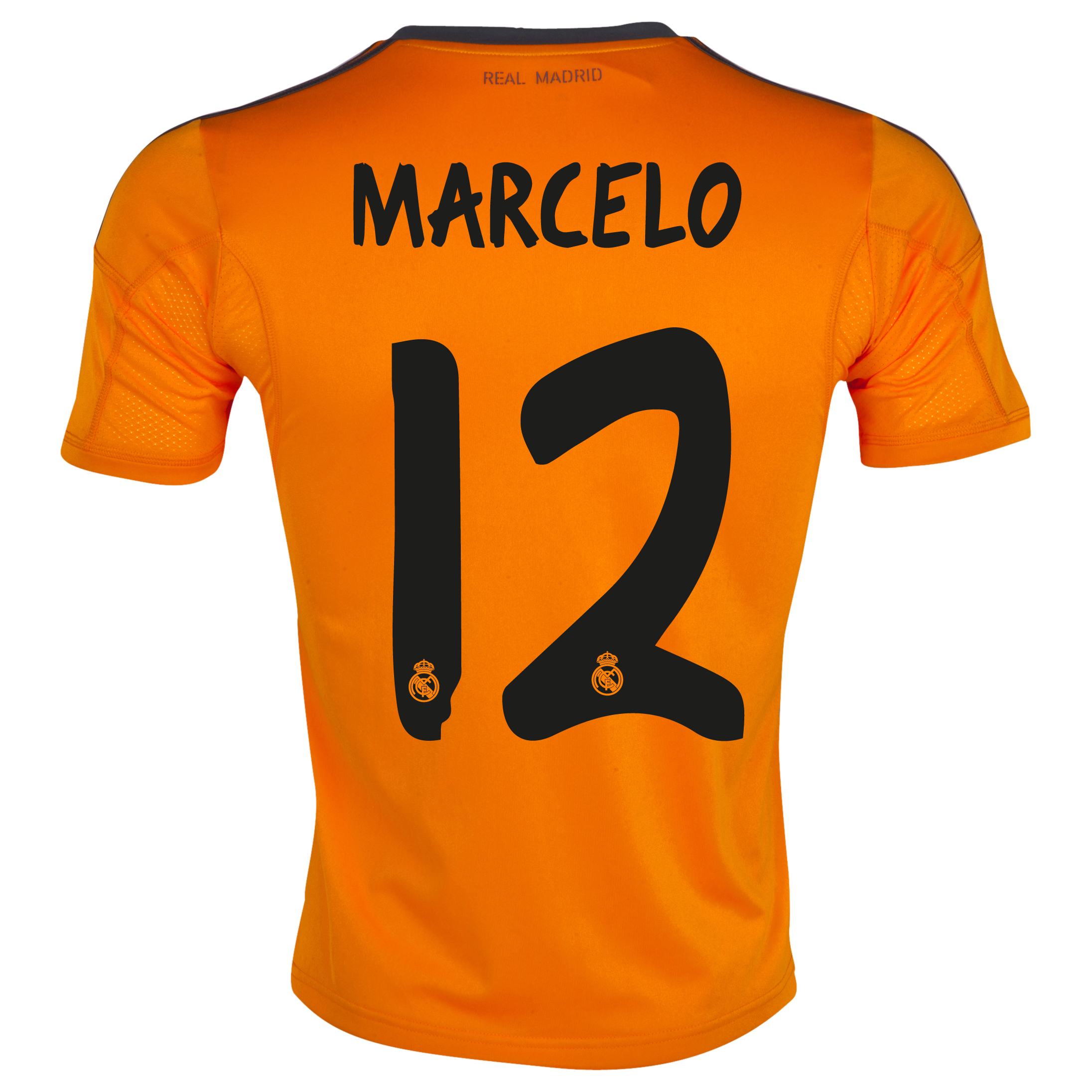 Real Madrid Third Shirt 2013/14 with Marcelo 12 printing