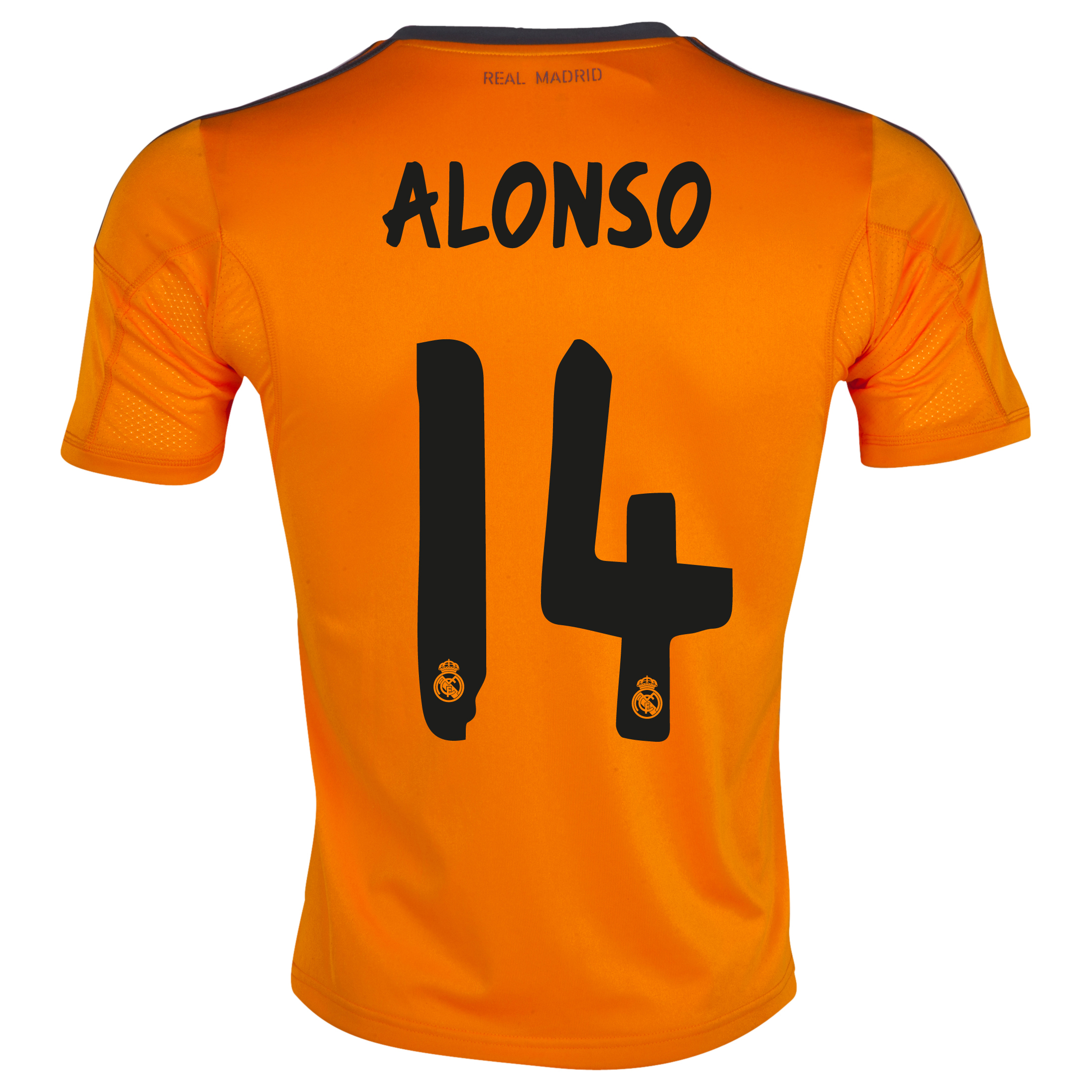 Real Madrid Third Shirt 2013/14 with Alonso 14 printing