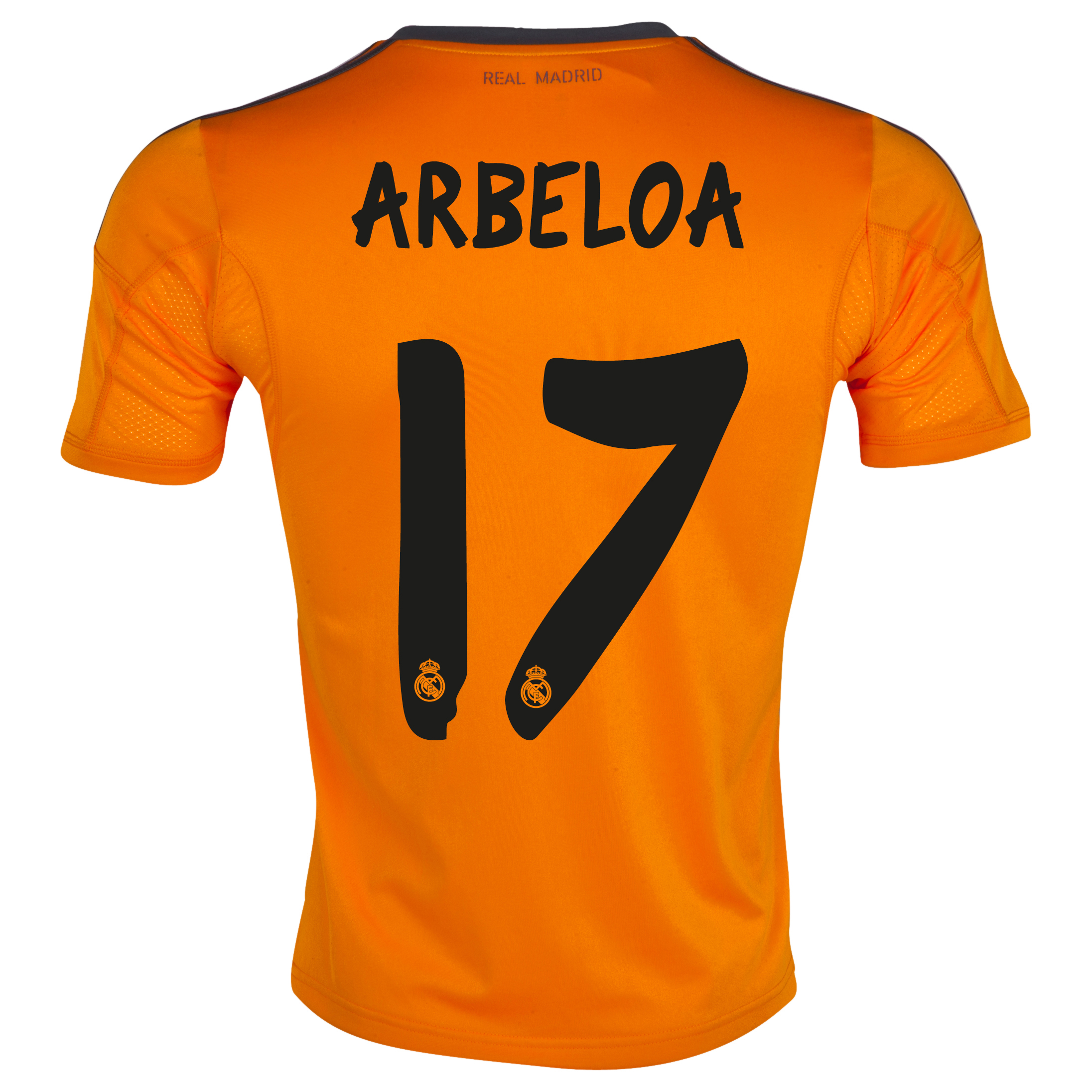 Real Madrid Third Shirt 2013/14 with Arbeloa 17 printing