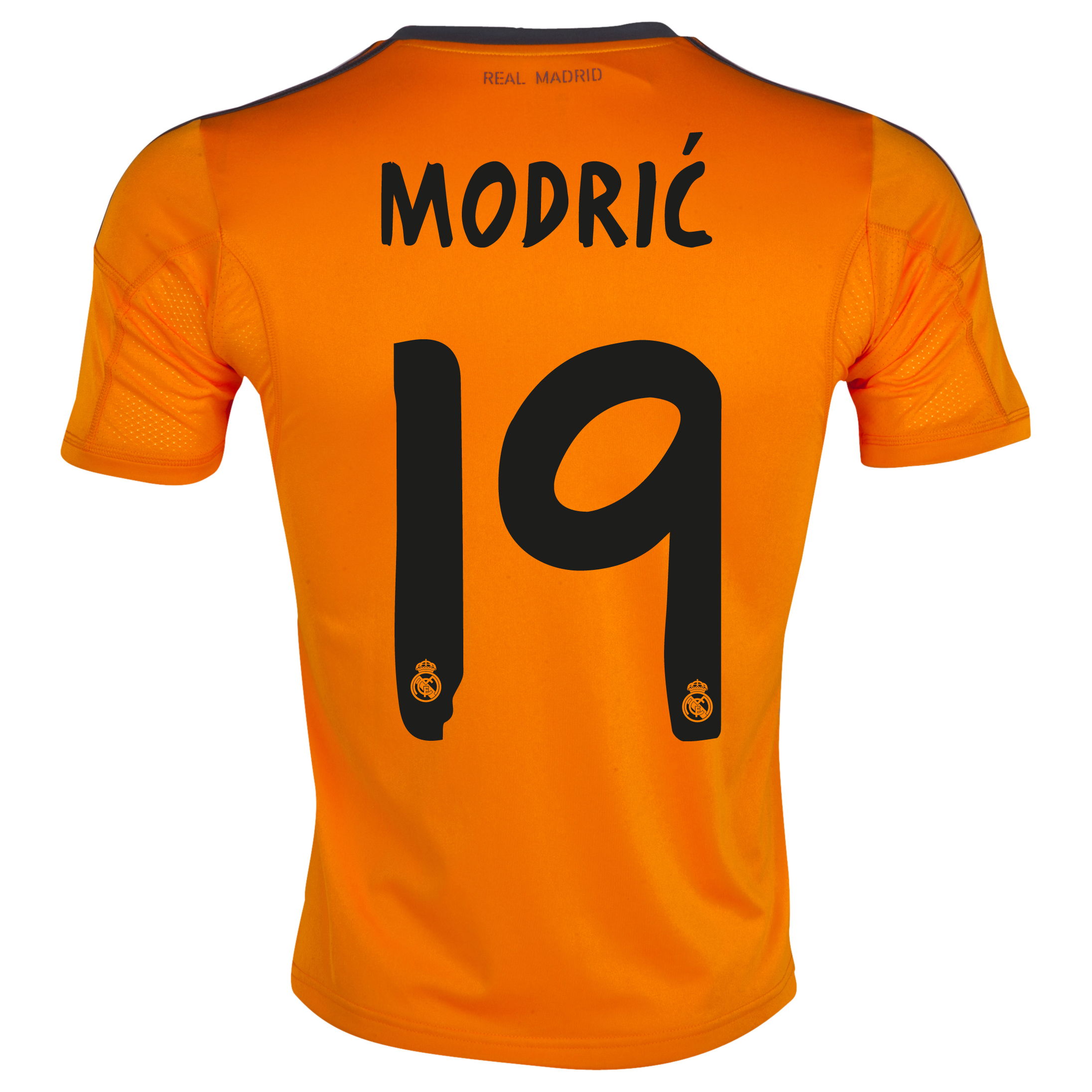 Real Madrid Third Shirt 2013/14 with Modric 19 printing