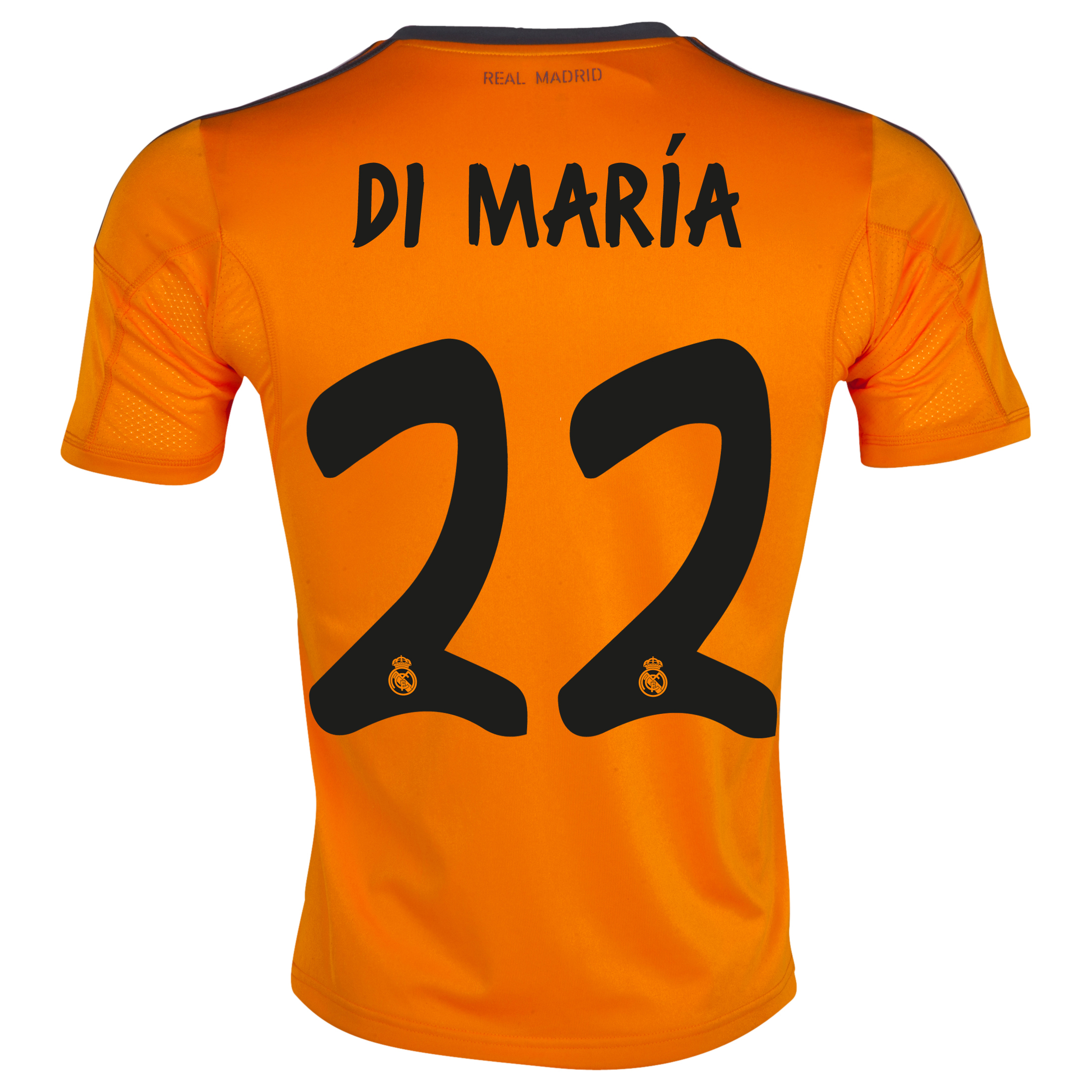 Real Madrid Third Shirt 2013/14 with Di María 22 printing