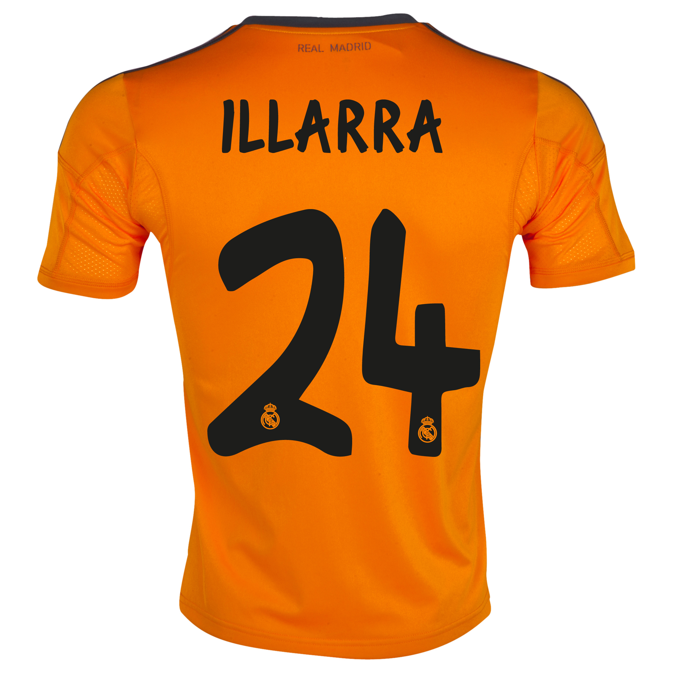 Real Madrid Third Shirt 2013/14 with Illarra 24 printing