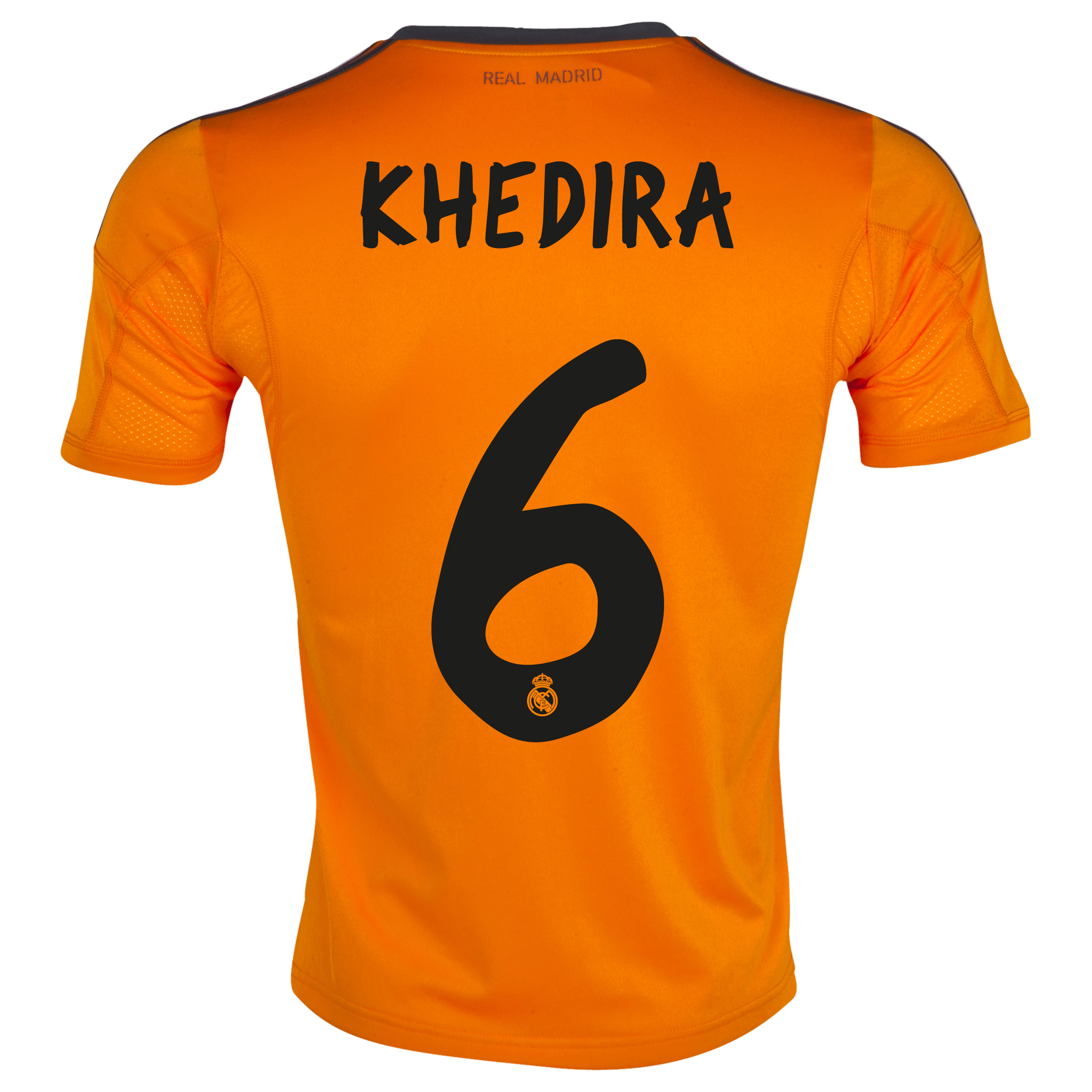 Real Madrid Third Shirt 2013/14 - Kids with Khedira 6 printing