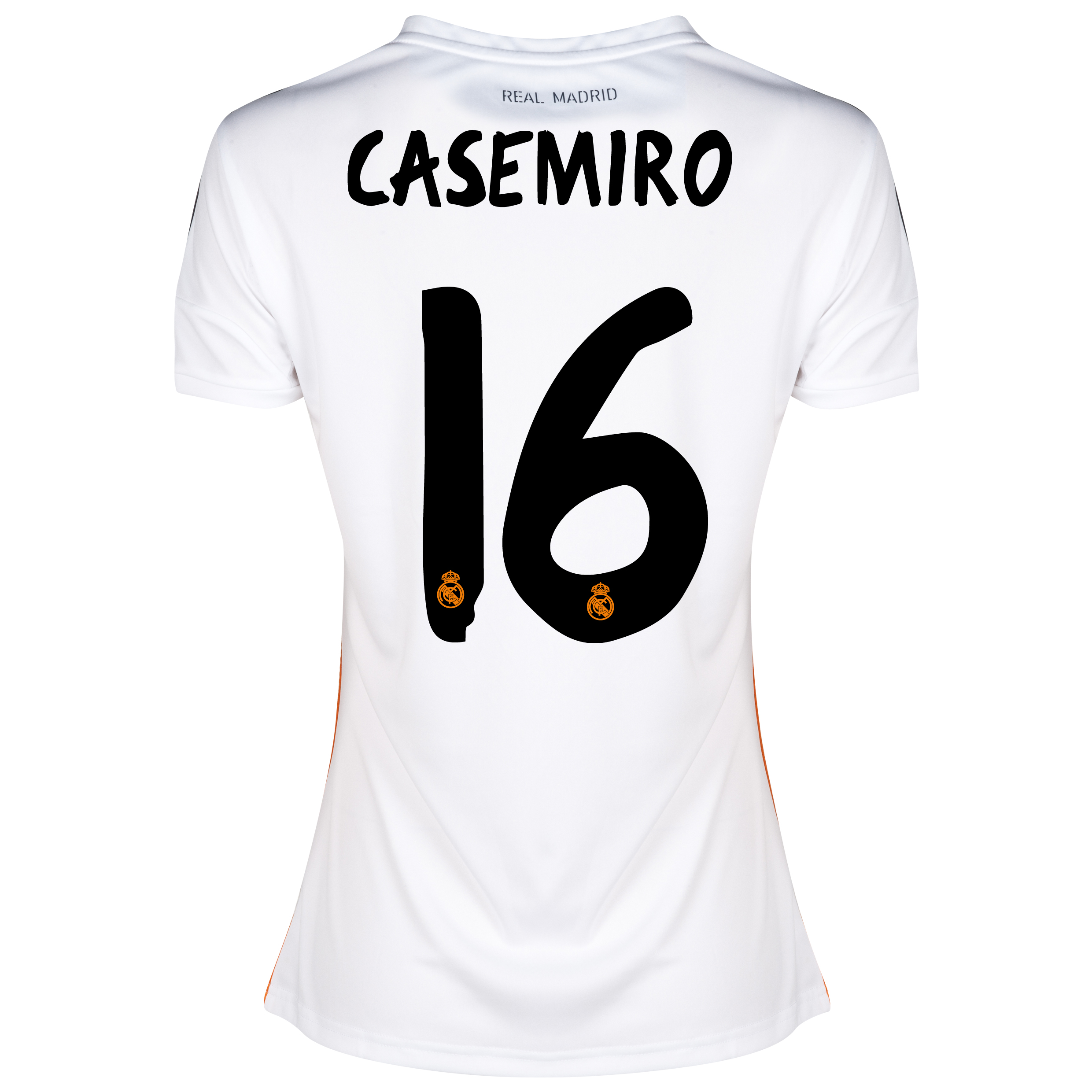 Real Madrid Home Shirt 2013/14 - Womens with Casemiro 16 printing