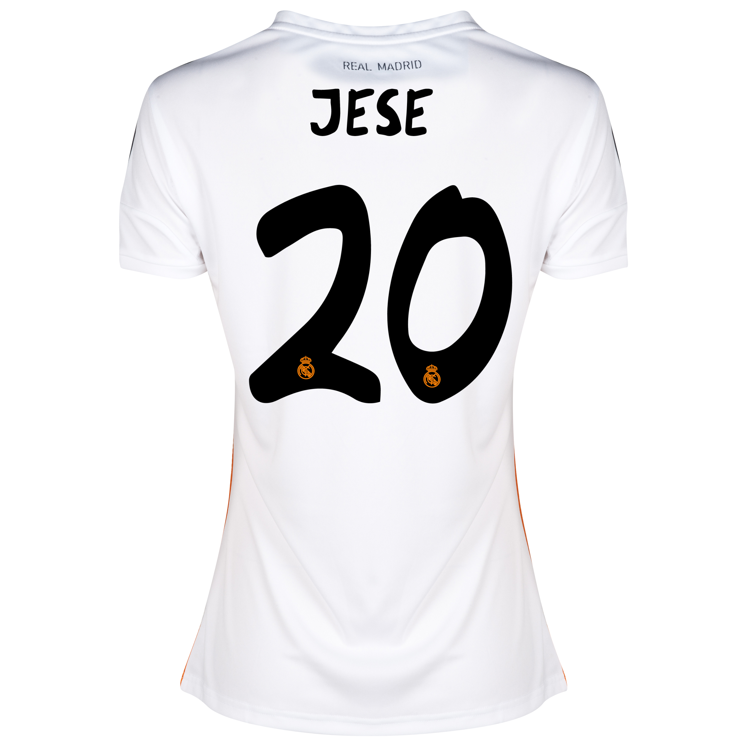Real Madrid Home Shirt 2013/14 - Womens with Jese 20 printing