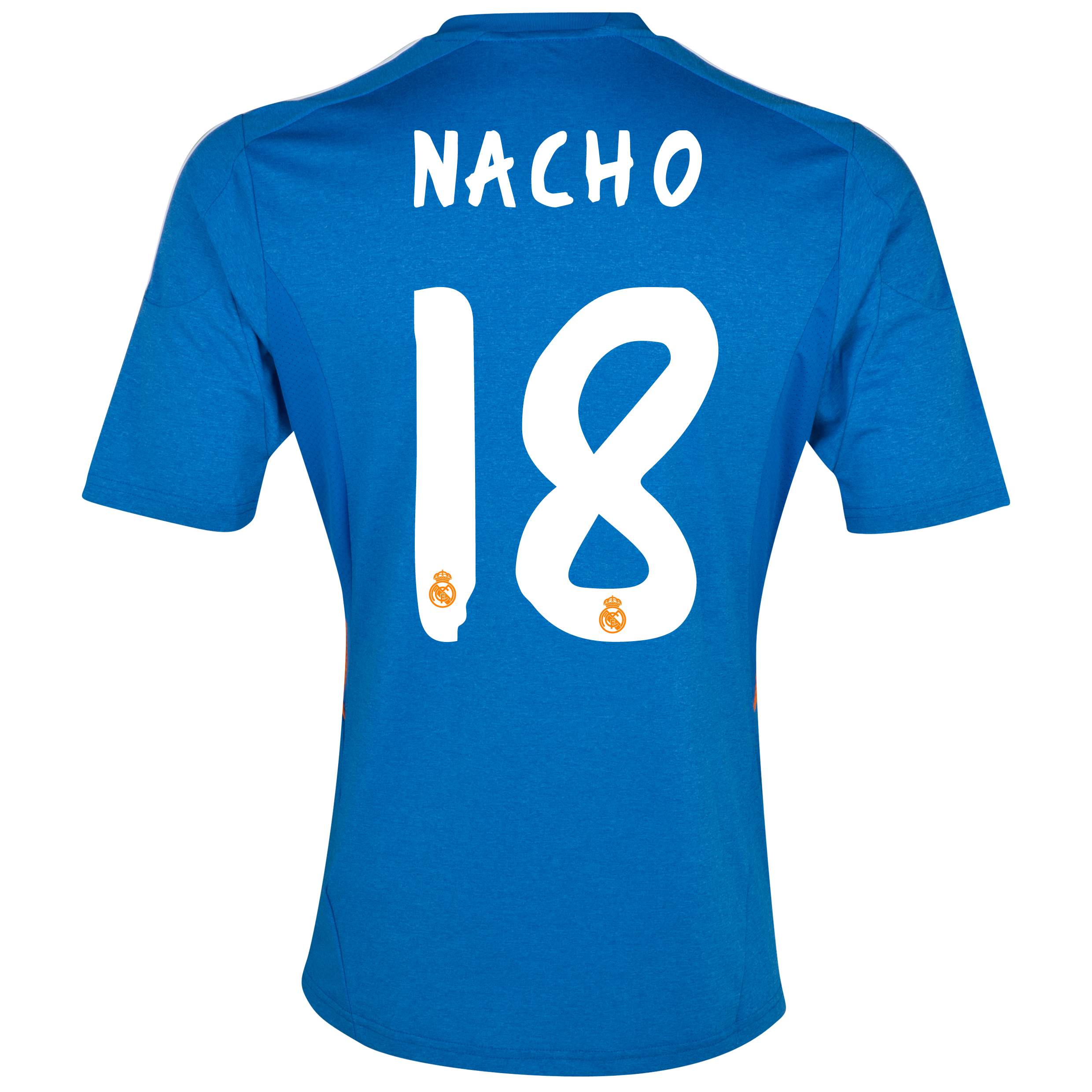 Real Madrid Away Shirt 2013/14 with Nacho 18 printing
