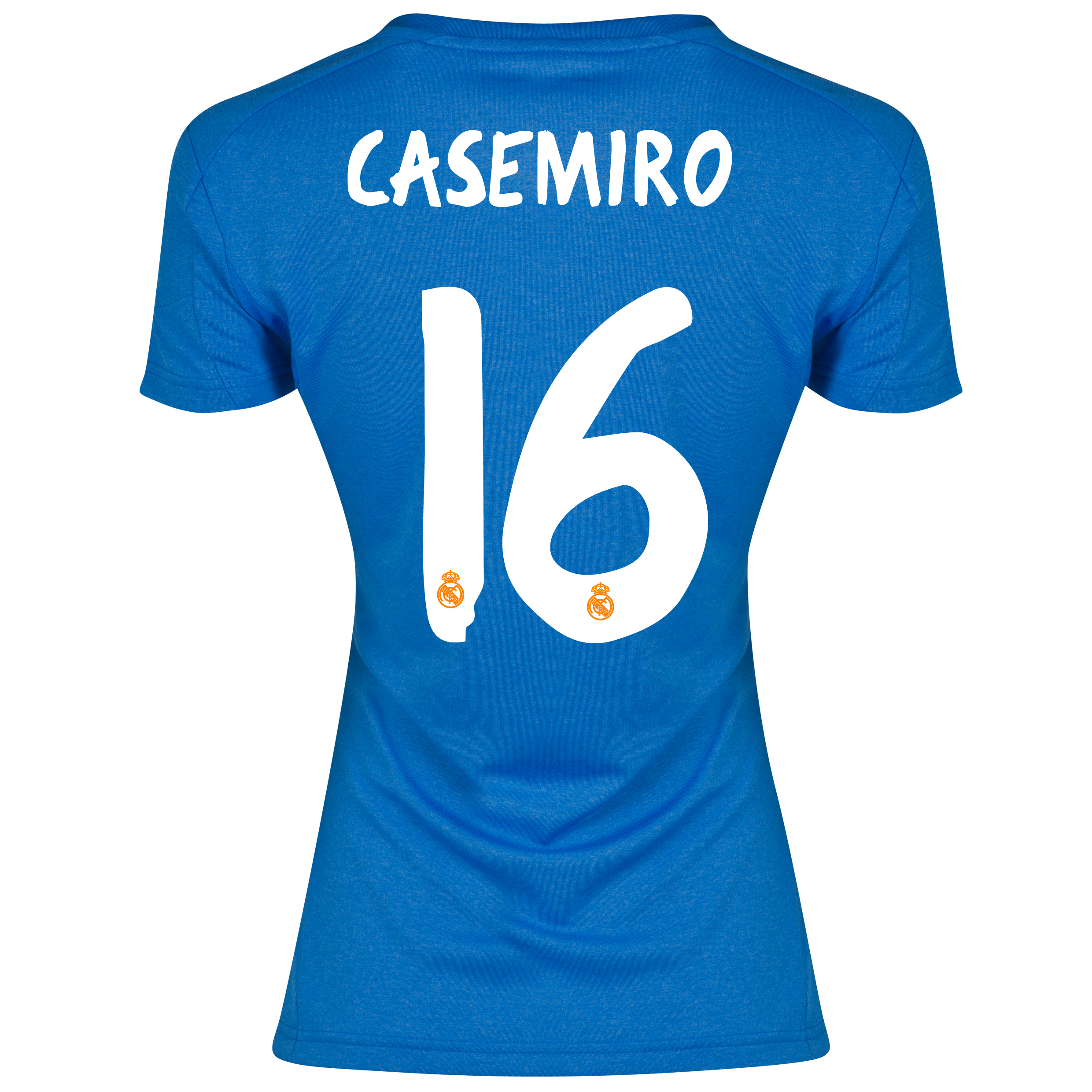 Real Madrid Away Shirt 2013/14 - Womens with Casemiro 16 printing
