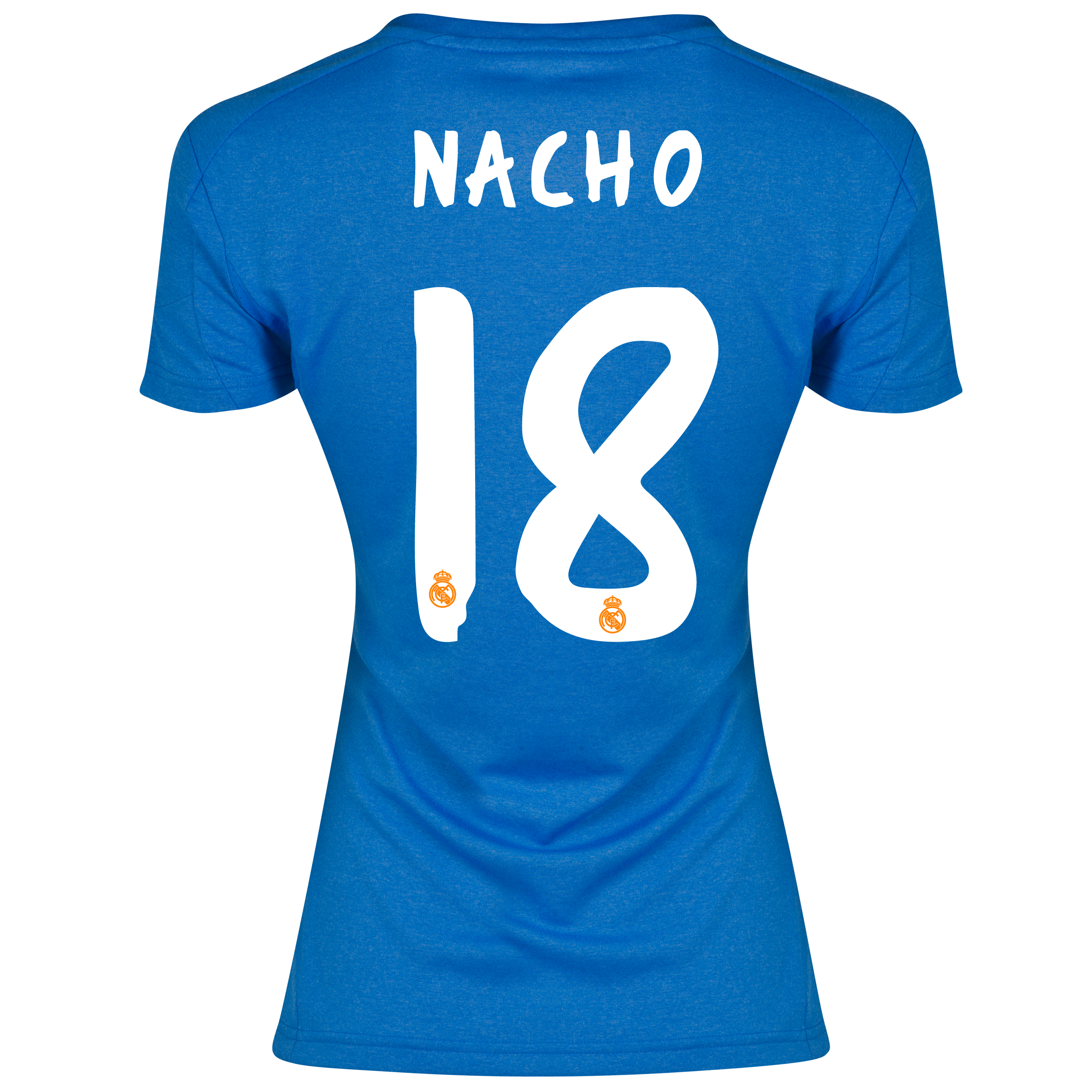 Real Madrid Away Shirt 2013/14 - Womens with Nacho 18 printing