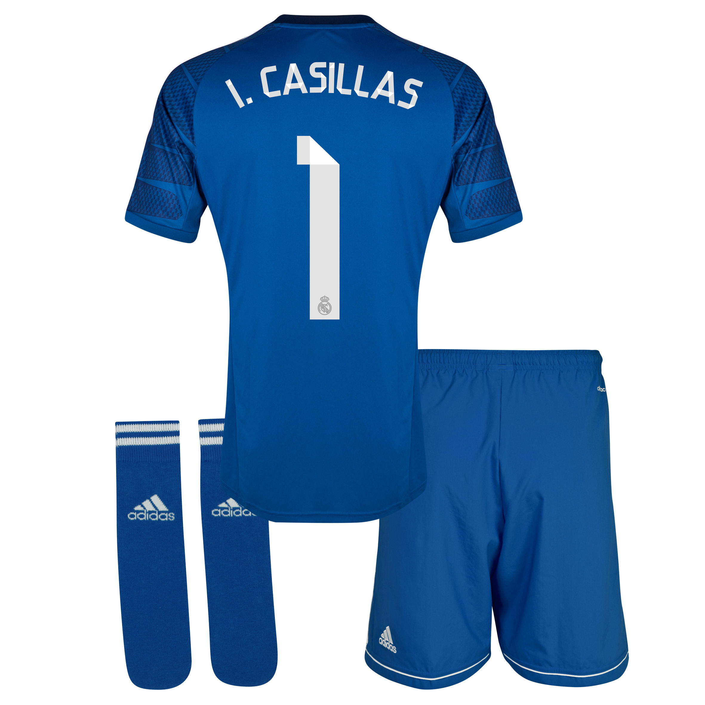 Real Madrid Home GK Mini Kit 2014/15 with Iker Casillas 1 printing