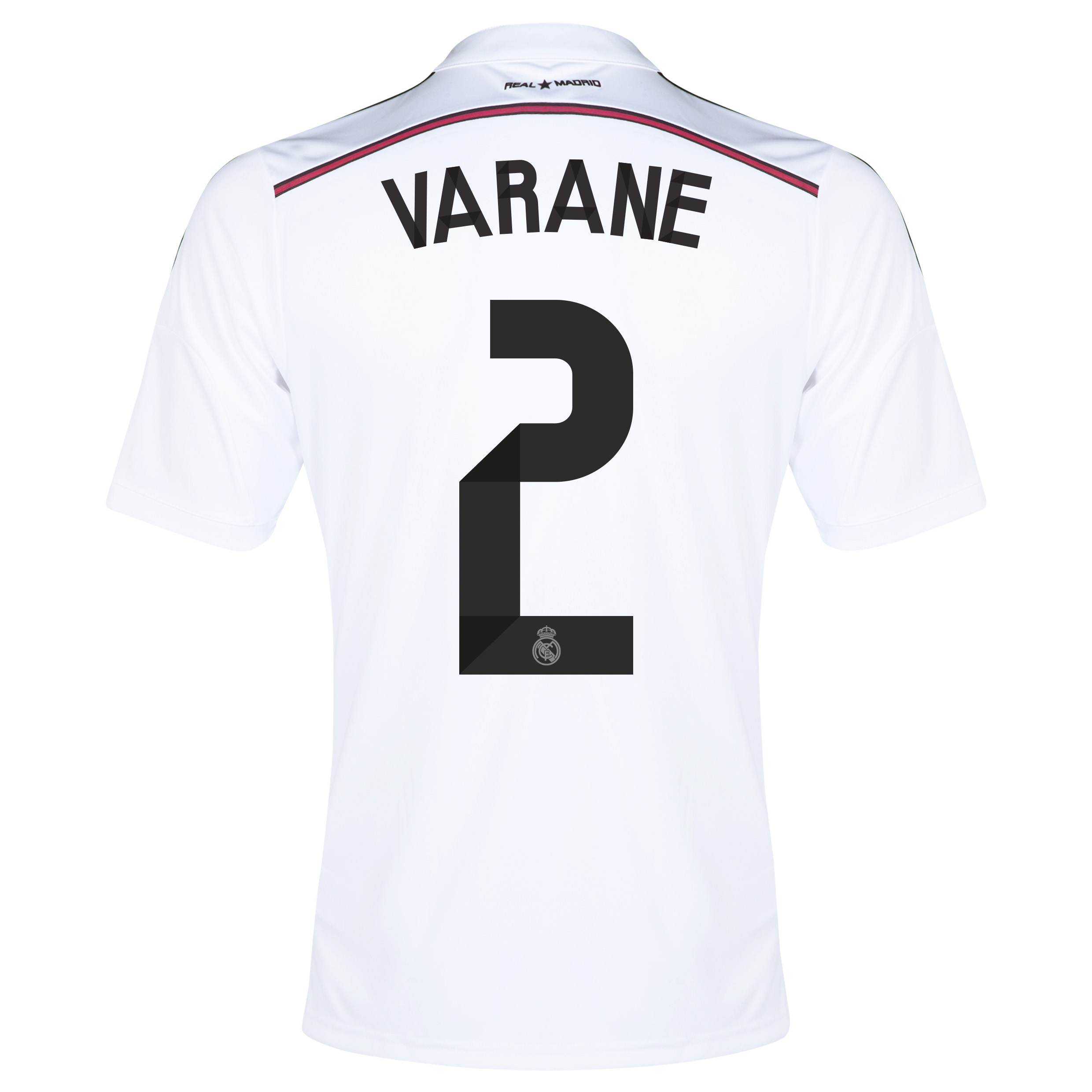 Real Madrid Home Shirt 2014/15 with Varane 2 printing