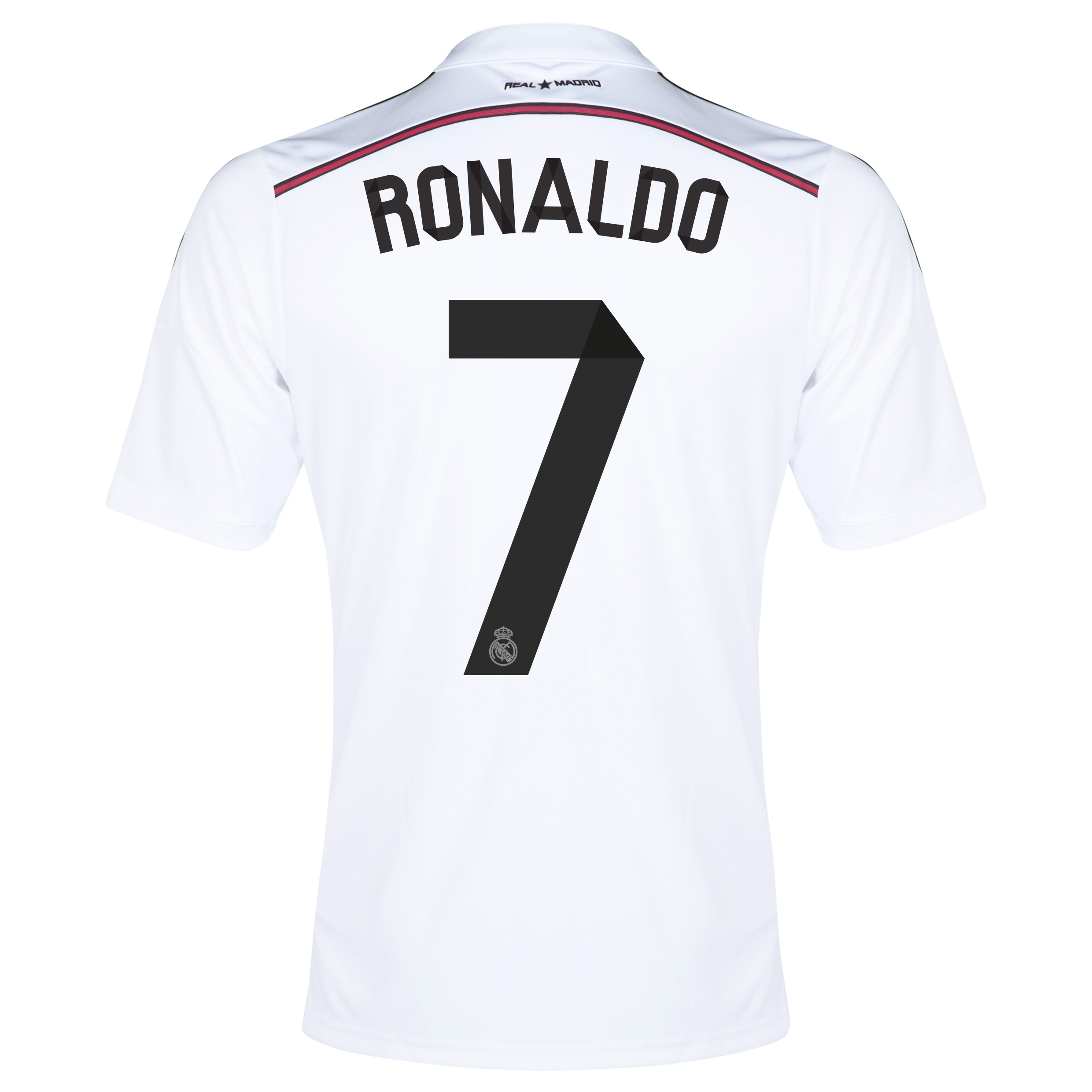 Real Madrid Home Shirt 2014/15 with Ronaldo 7 printing