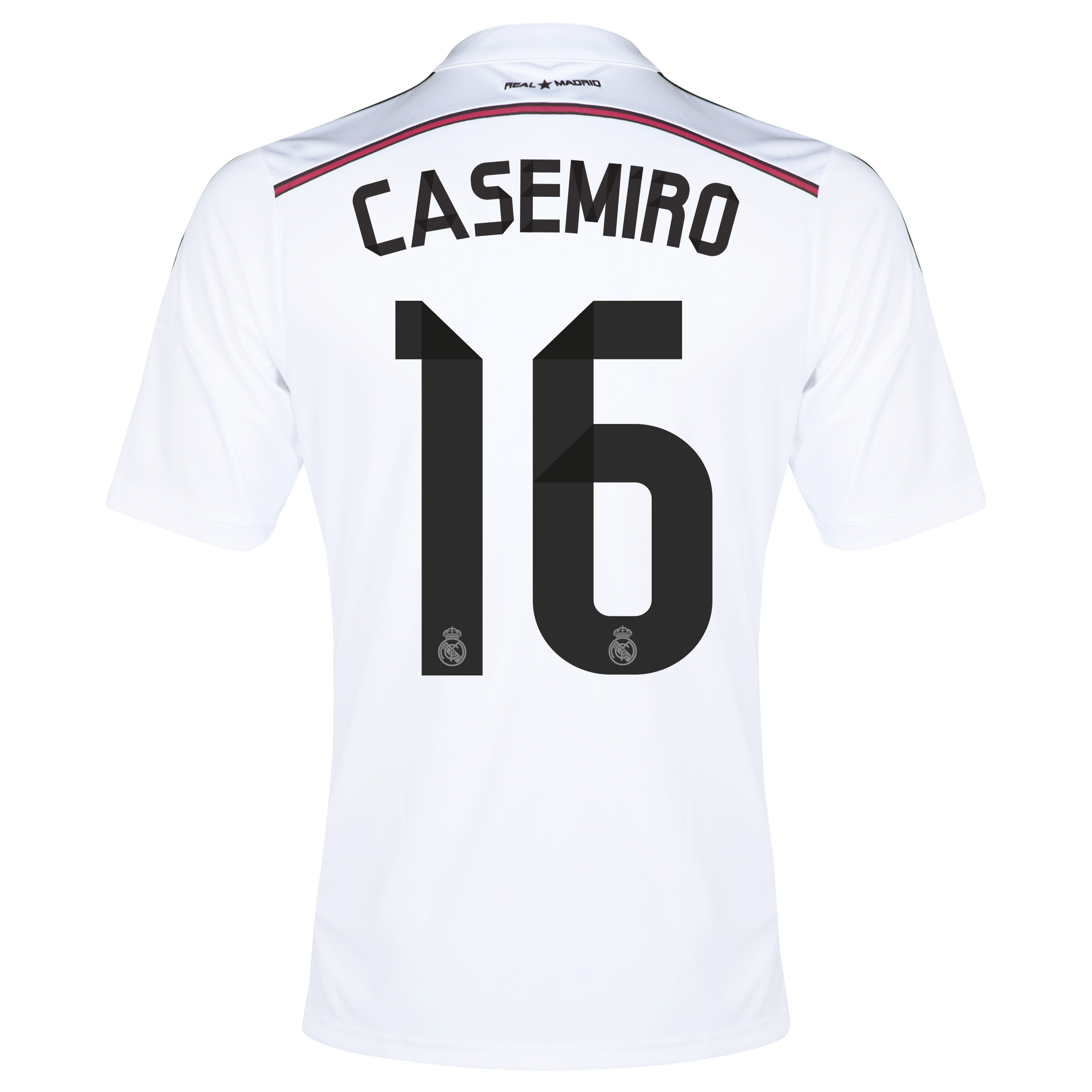 Real Madrid Home Shirt 2014/15 with Casemiro 16 printing