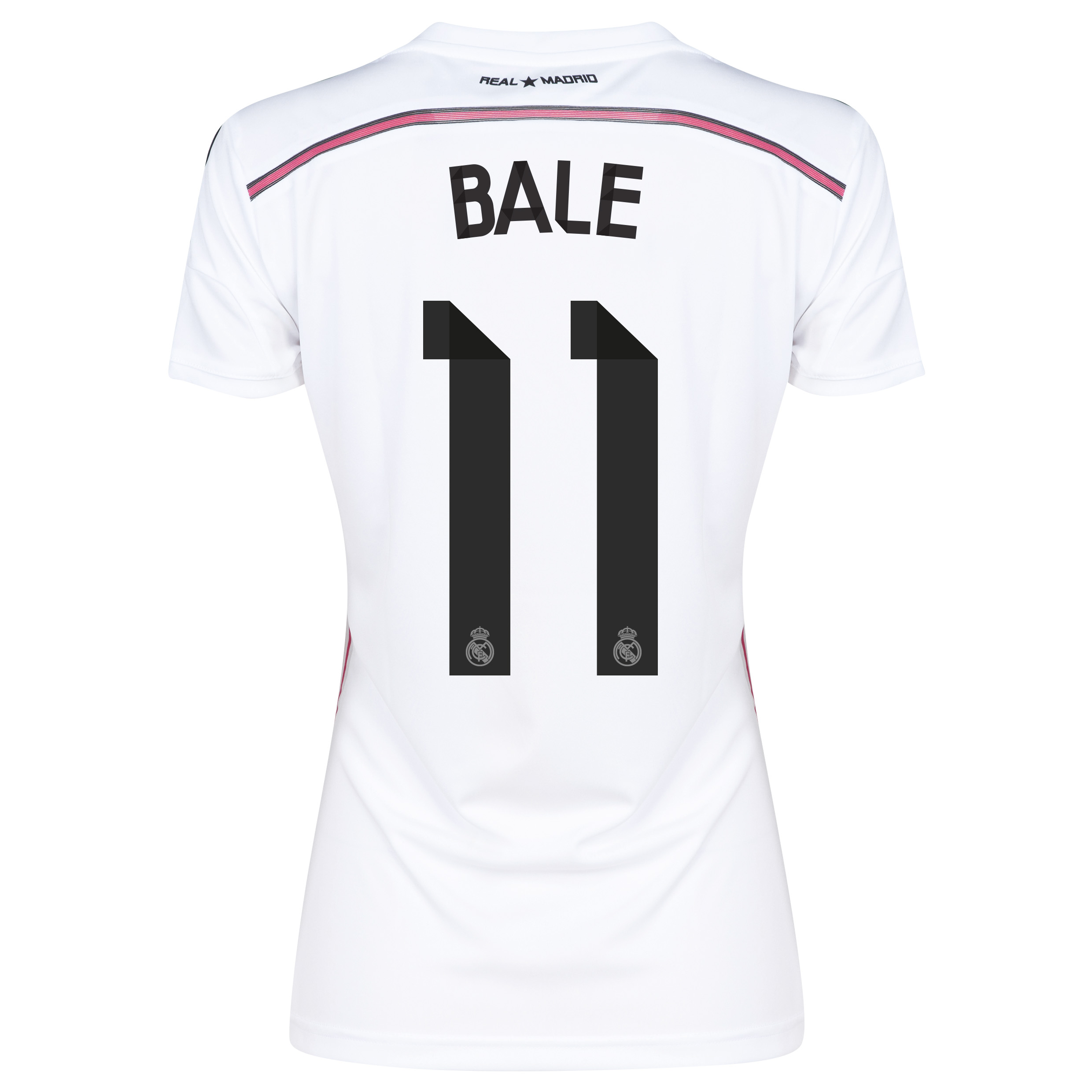 Real Madrid Home Shirt 2014/15 Womens with Bale 11 printing