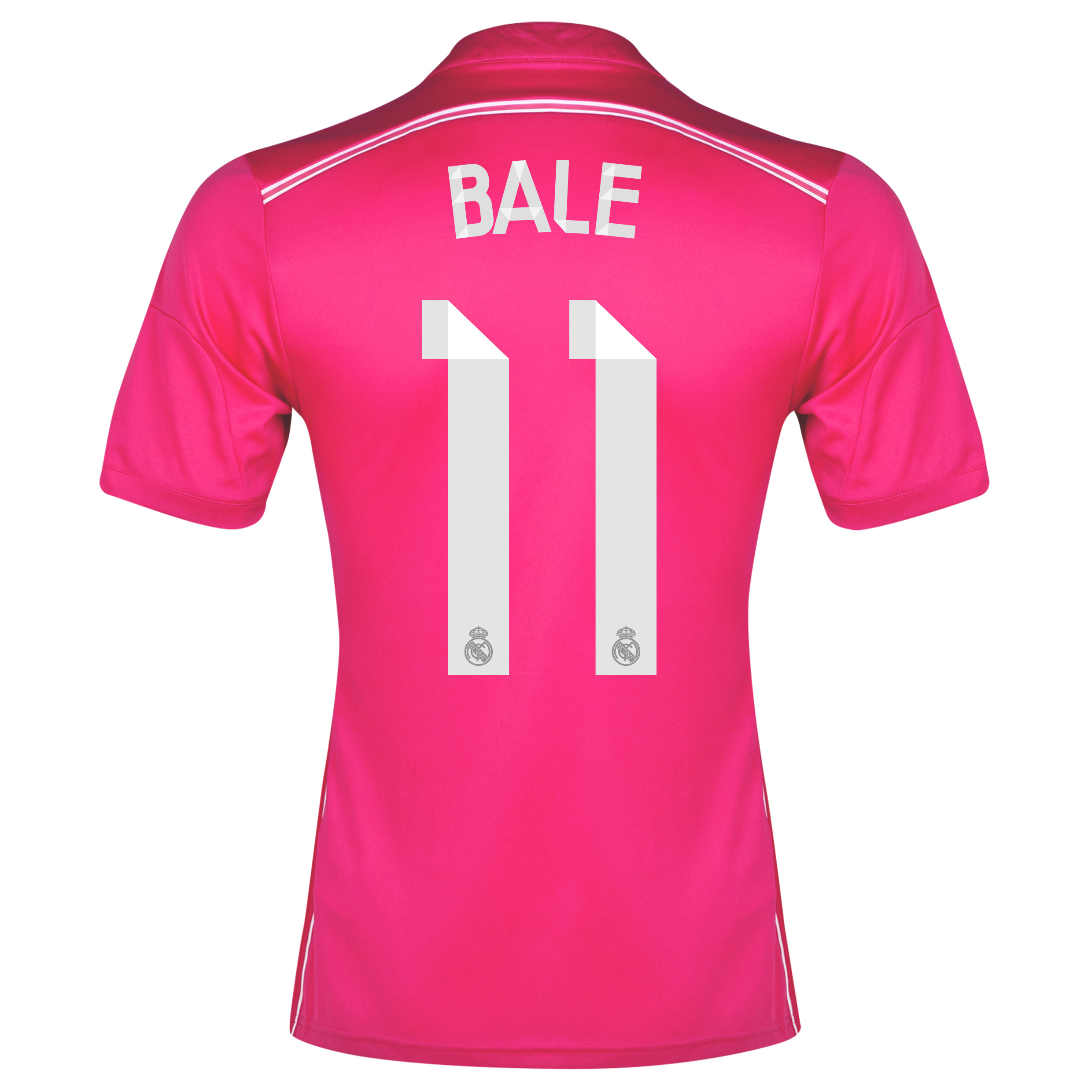 Real Madrid Away Shirt 2014/15 with Bale 11 printing
