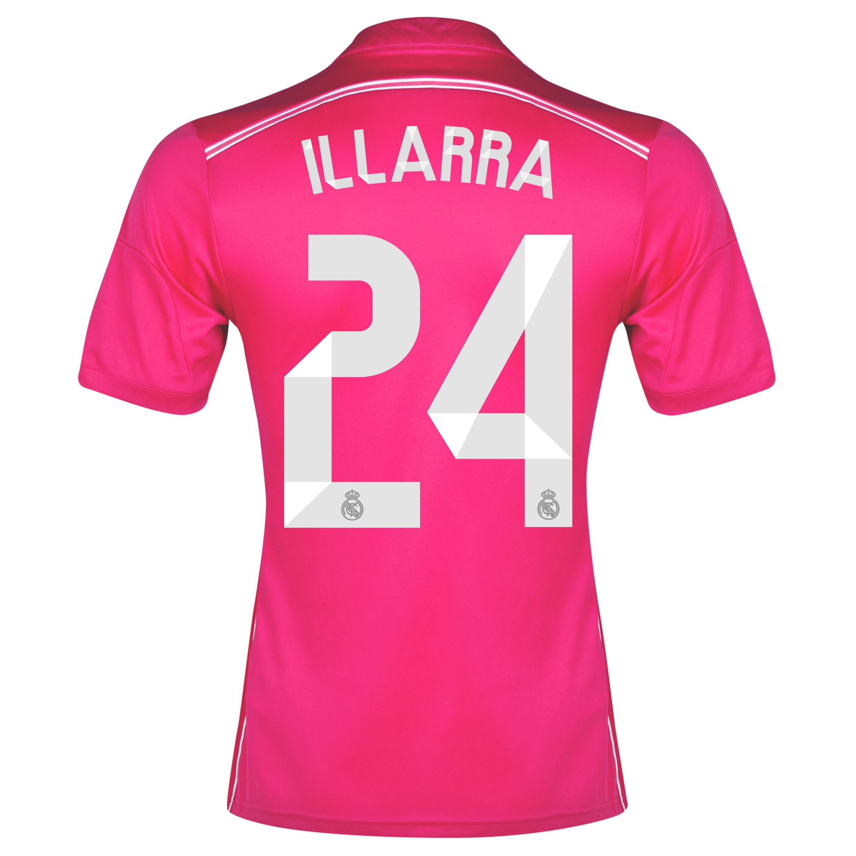 Real Madrid Away Shirt 2014/15 with Illarra 24 printing