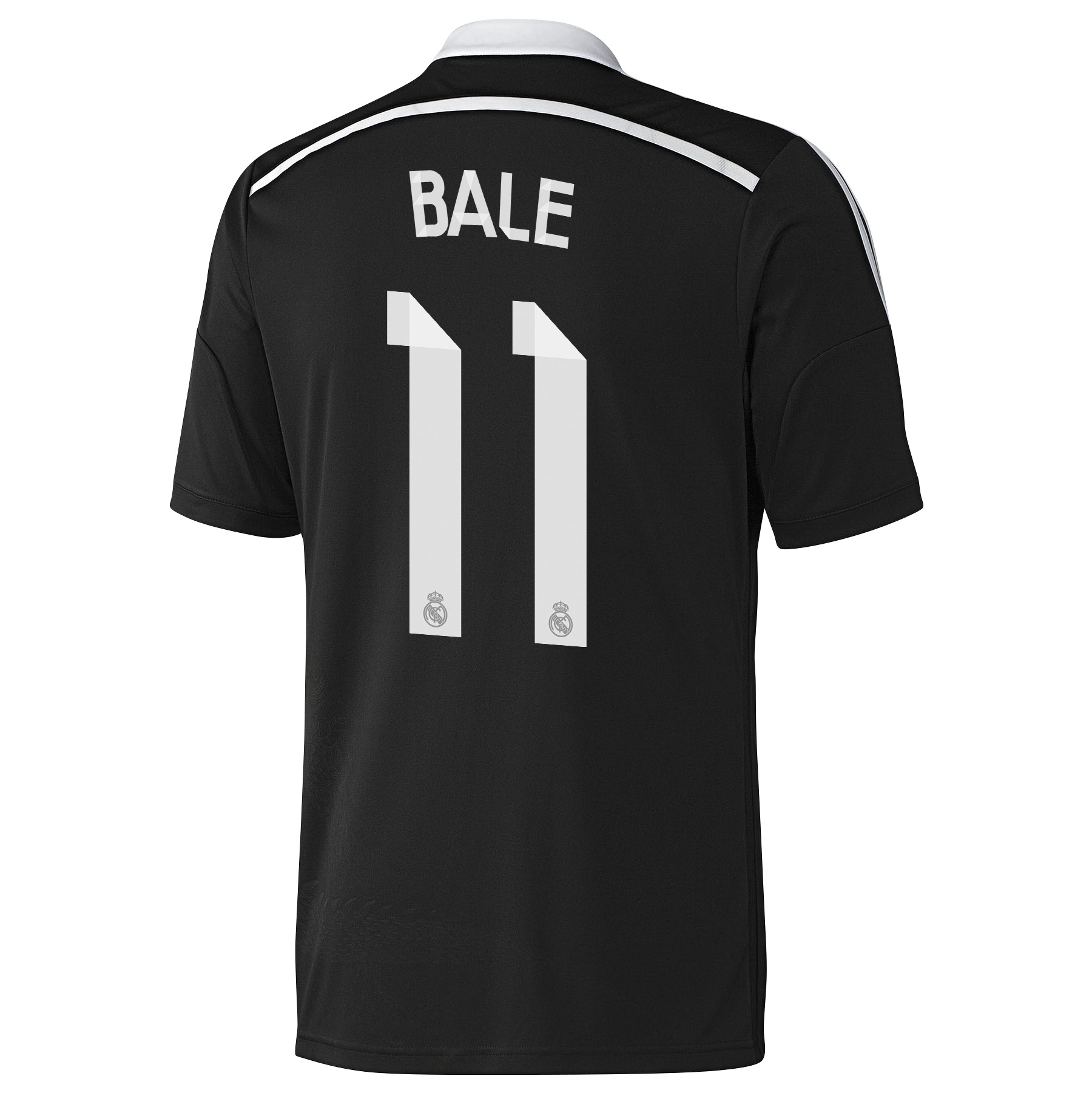 Real Madrid Third Shirt 2014/15 - Kids Black with Bale 11 printing