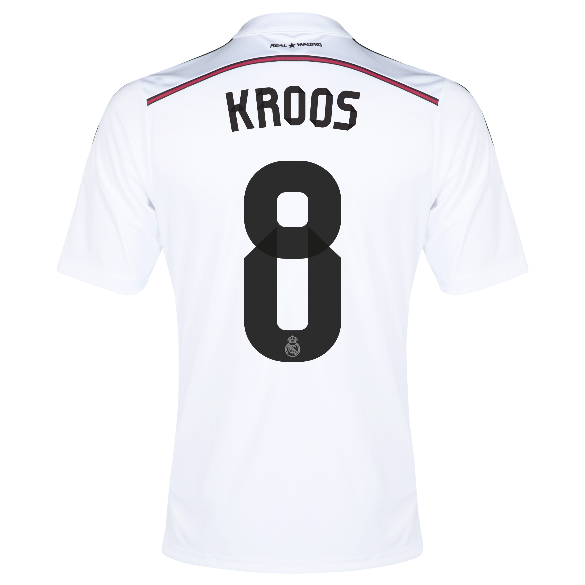 Real Madrid Home Shirt 2014/15 - Kids with KROOS 8 printing