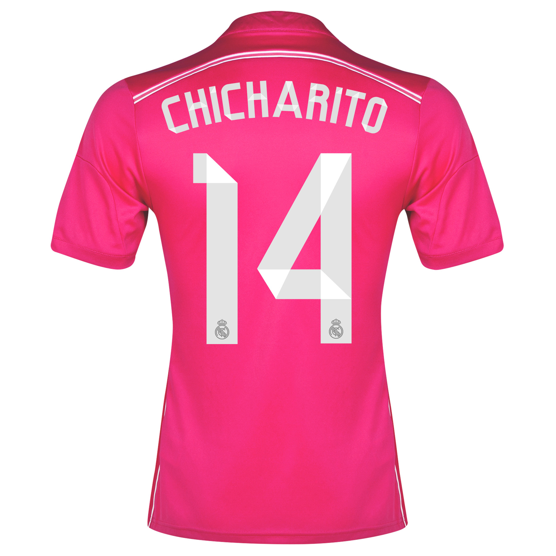 Real Madrid Away Shirt 2014/15 with Chicharito 14 printing