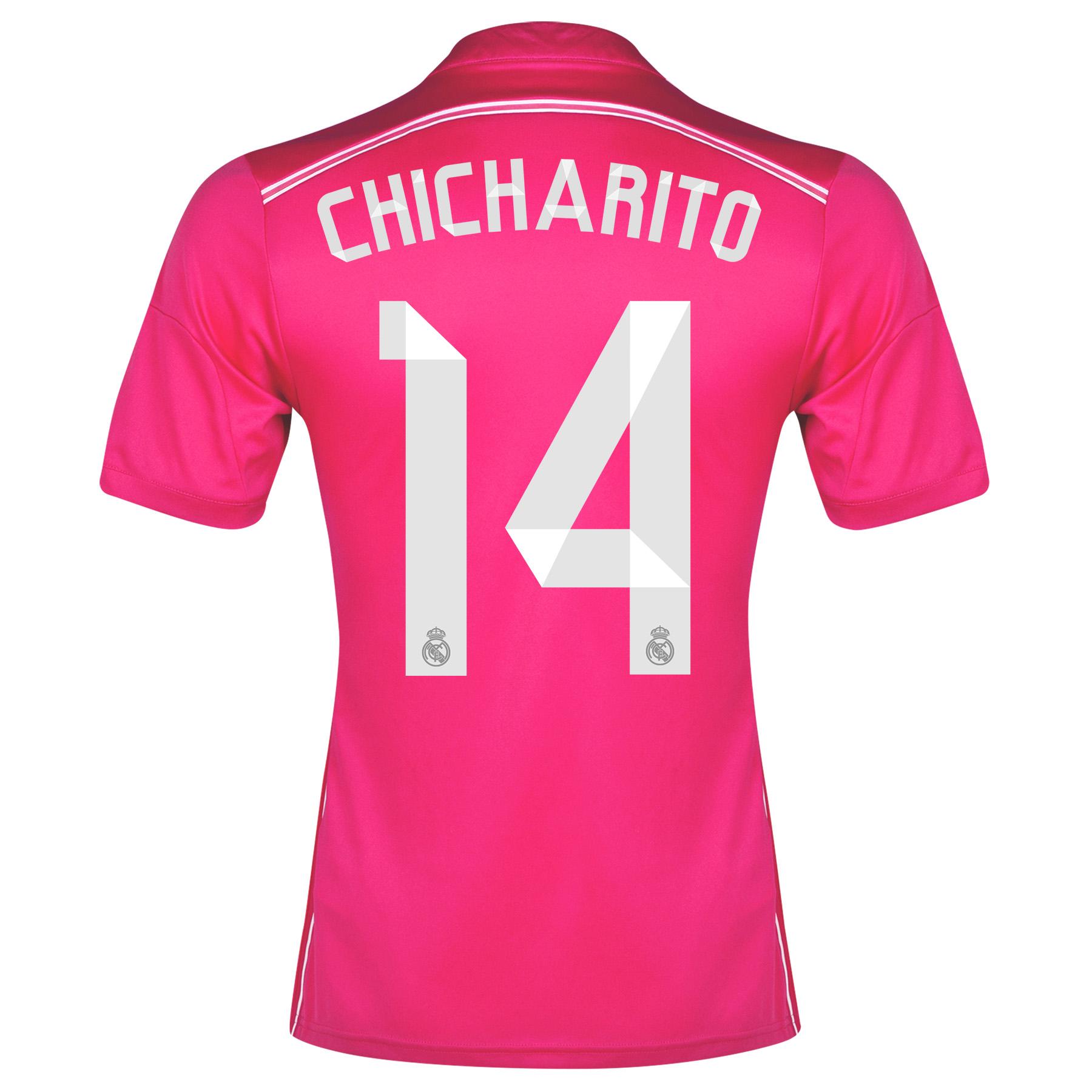 Real Madrid Away Shirt 2014/15 - Kids with Chicharito 14 printing