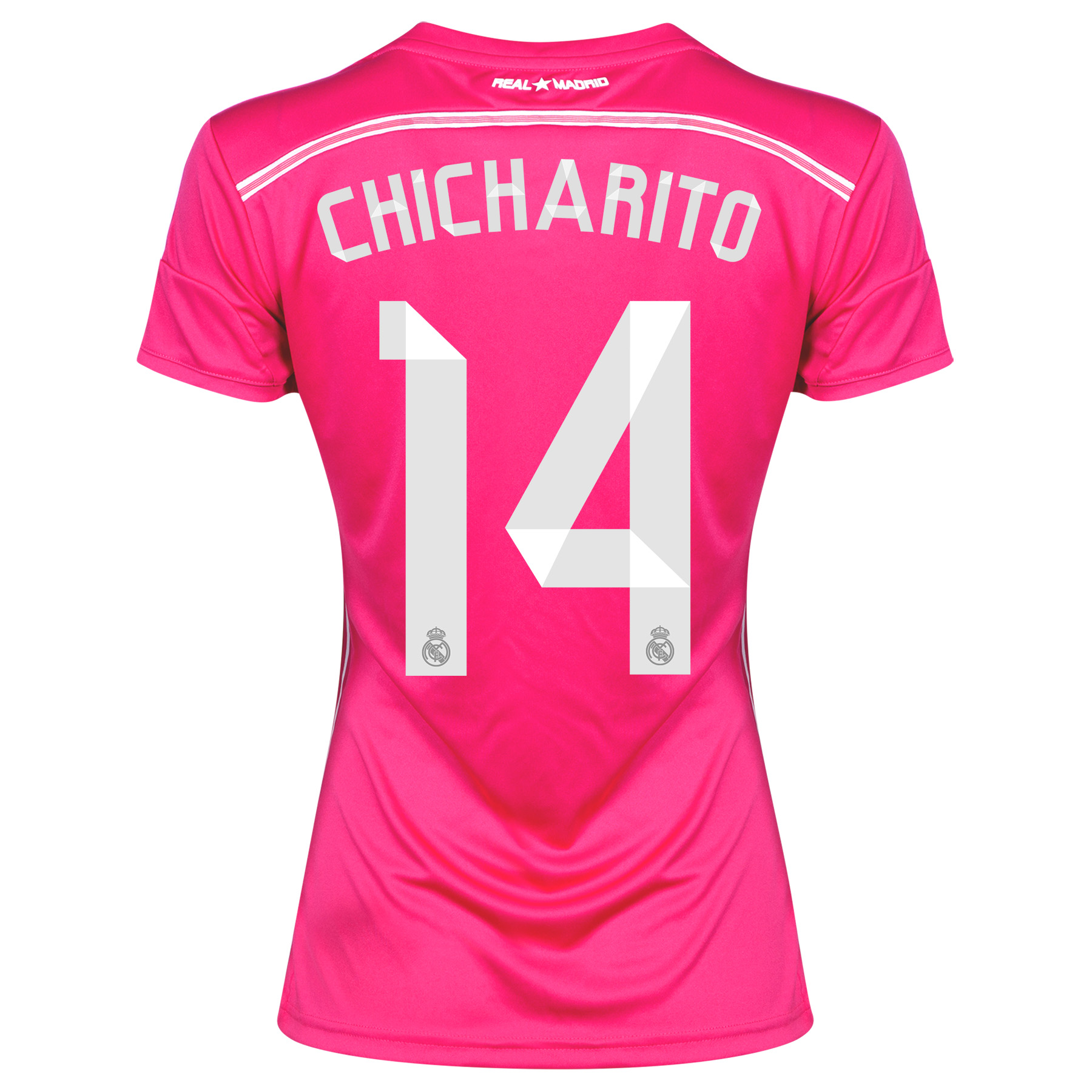 Real Madrid Away Shirt 2014/15 Womens with Chicharito 14 printing