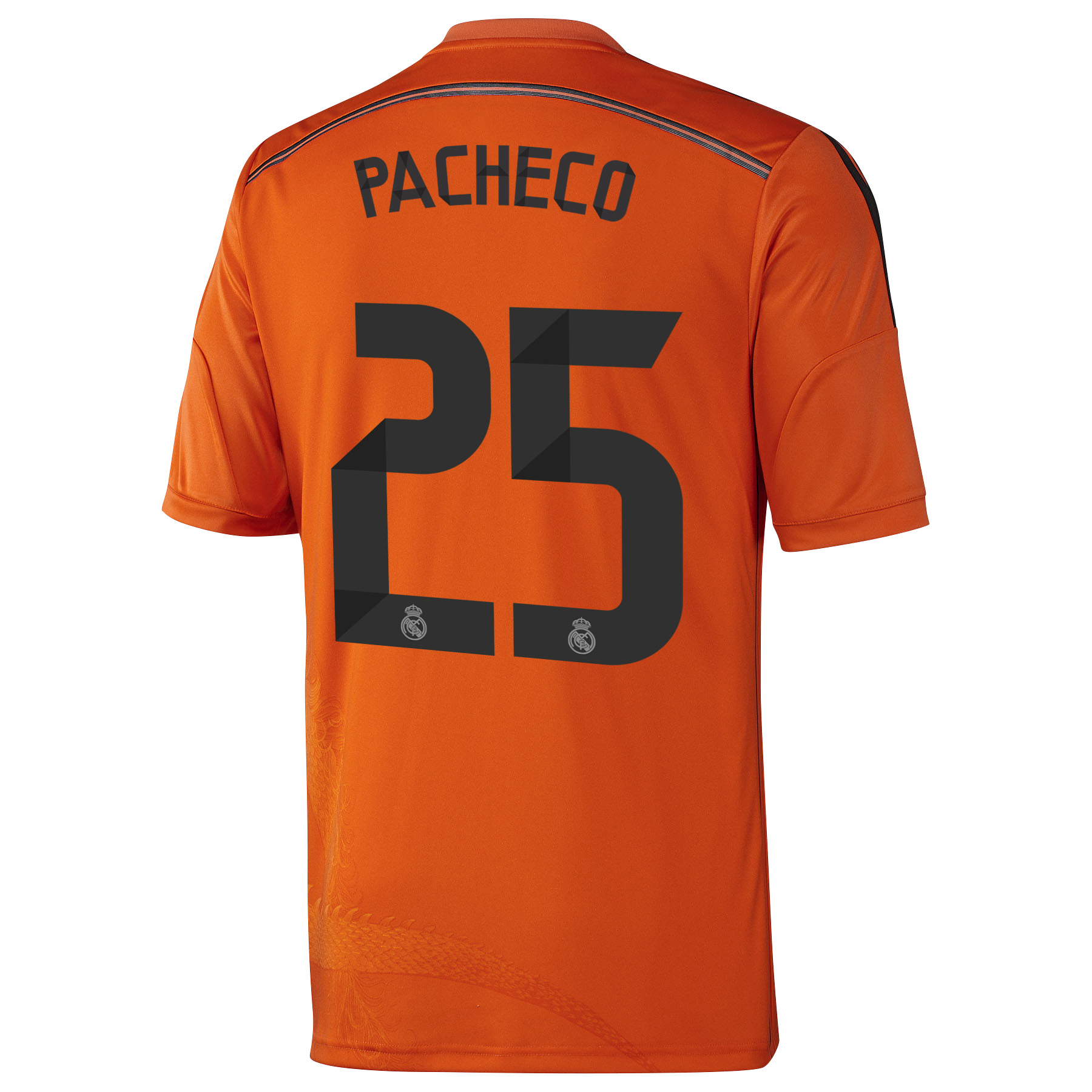Real Madrid Third Goalkeeper Mini Kit 2014/15 with Pacheco 25 printing