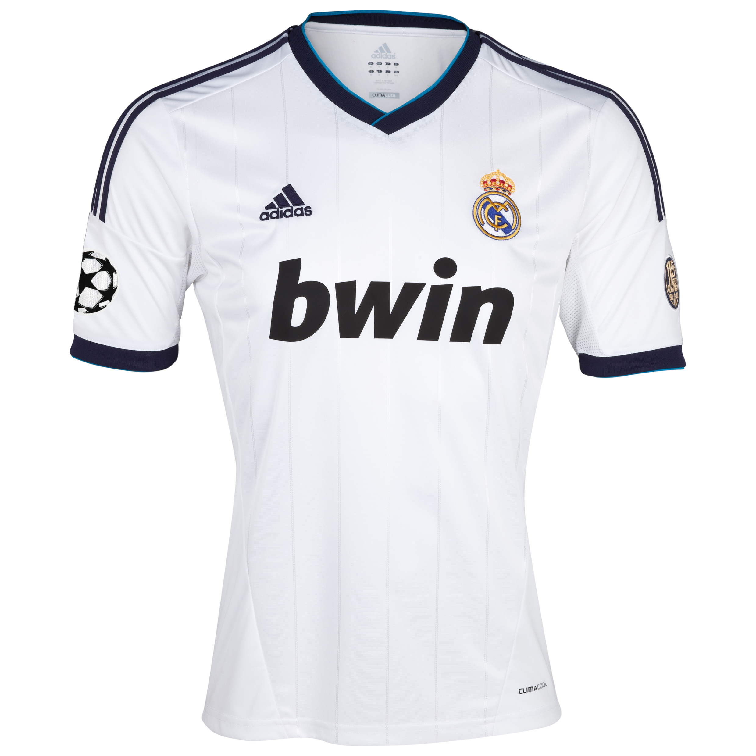 Real Madrid UEFA Champions League Home Shirt 2012/13