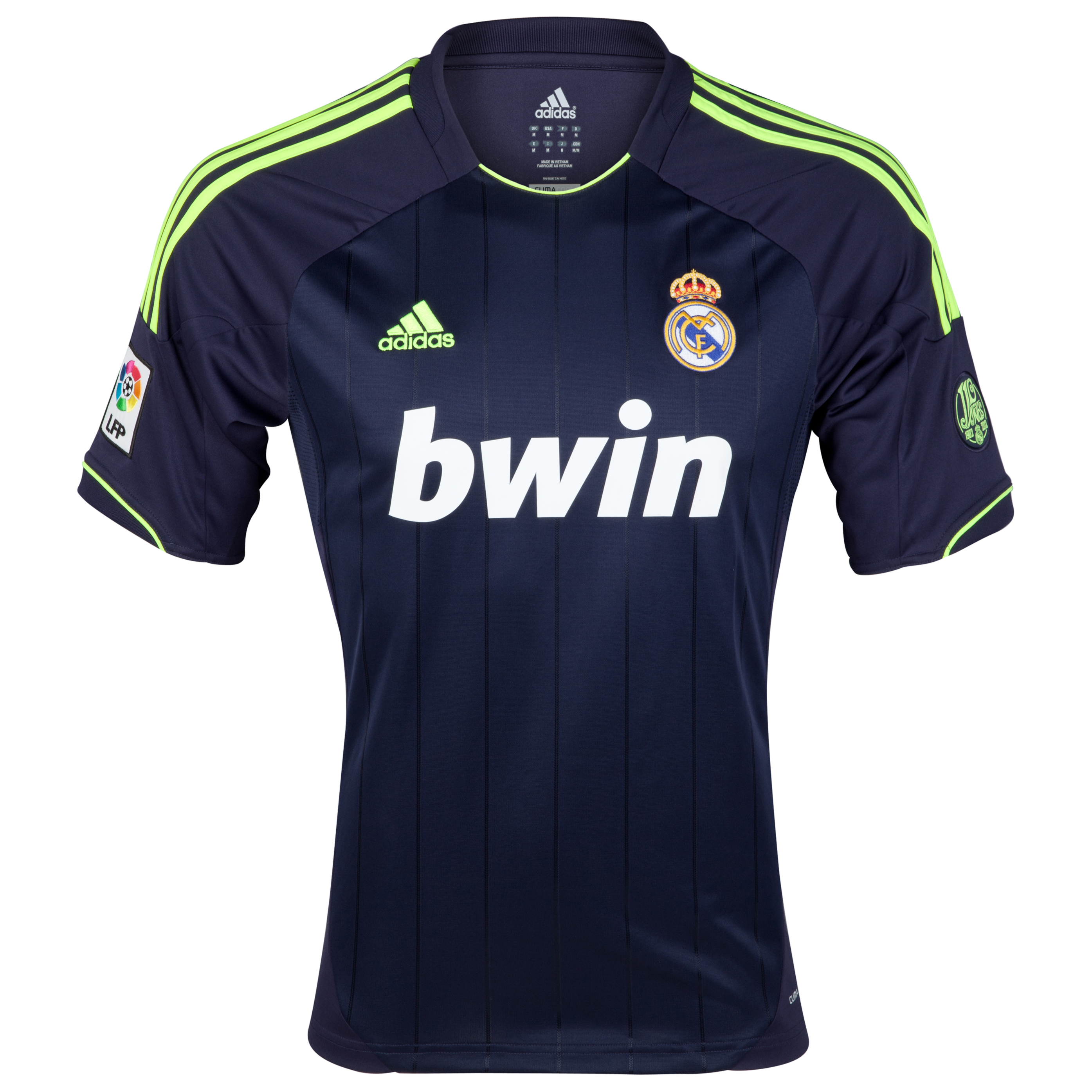 Camiseta visitante Real Madrid 2012/13