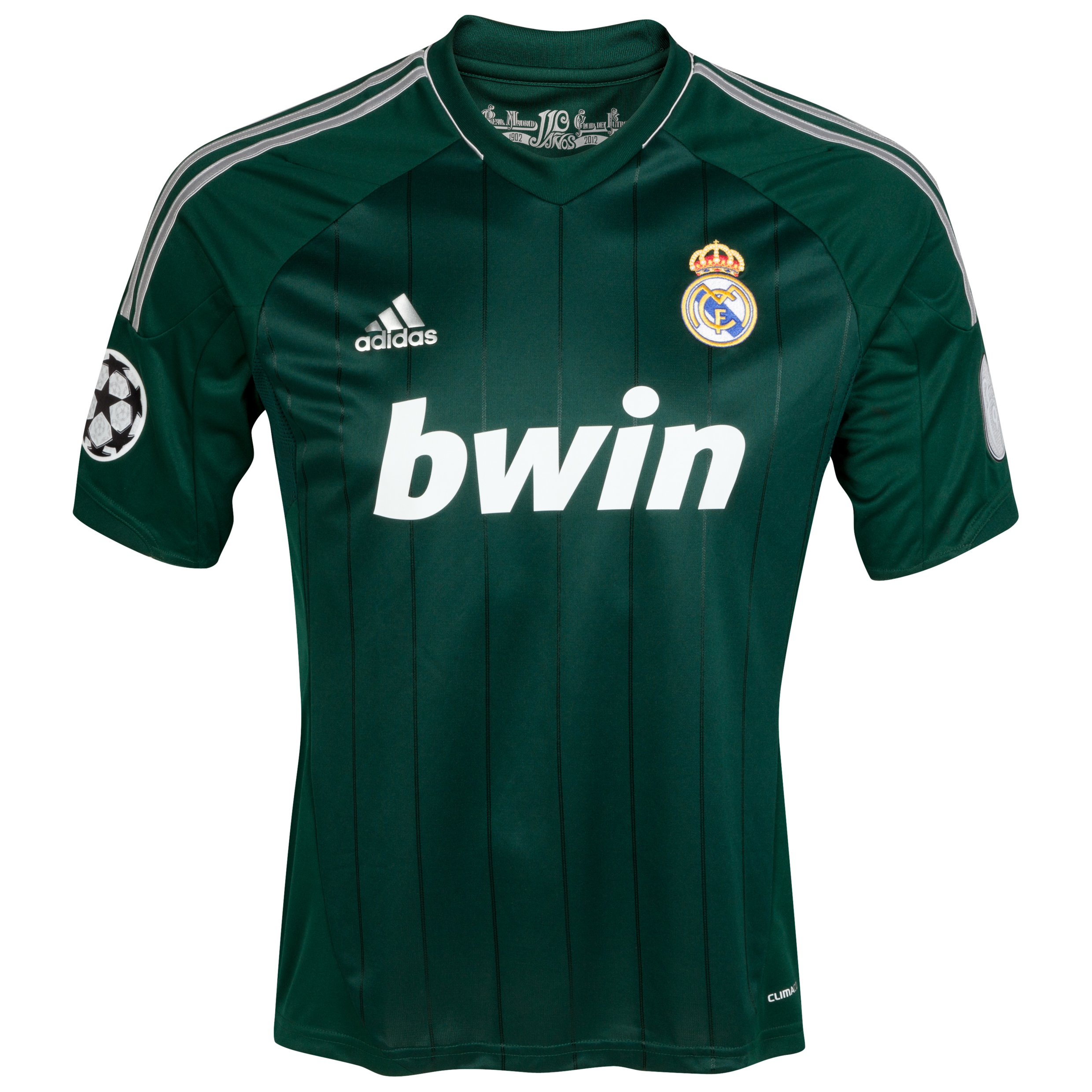 Buy Real Madrid UEFA Champions League Third Kit 2012/13