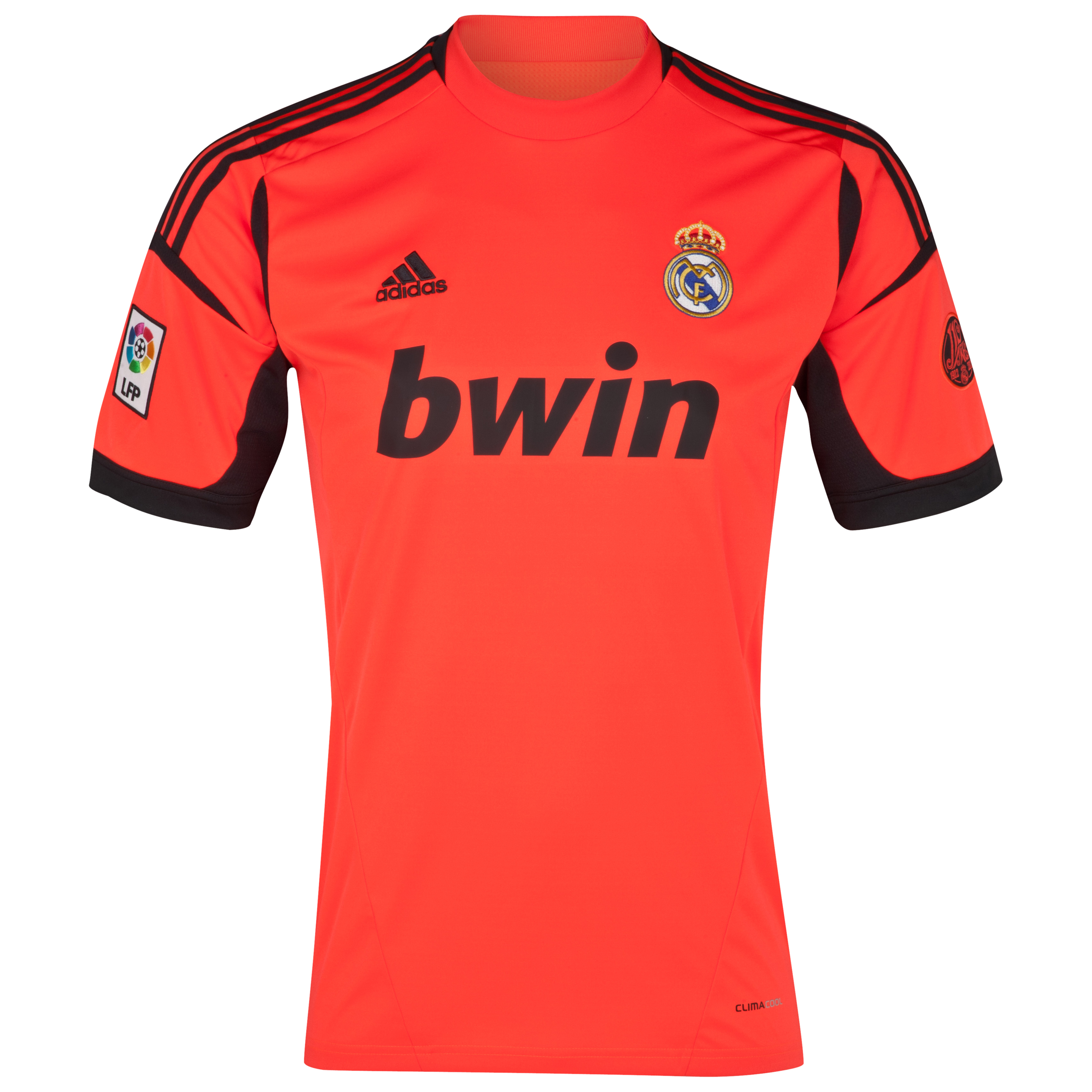 Real Madrid Home Goalkeeper Shirt 2012/13
