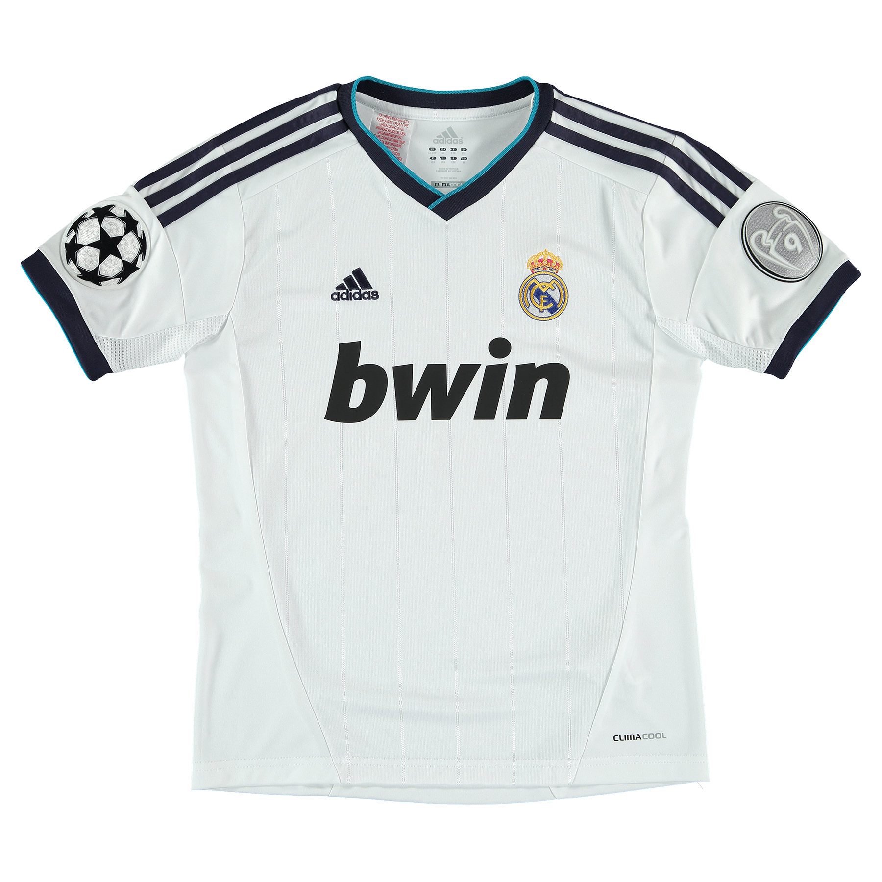 Real Madrid UEFA Champions League Home Shirt 2012/13 Kids