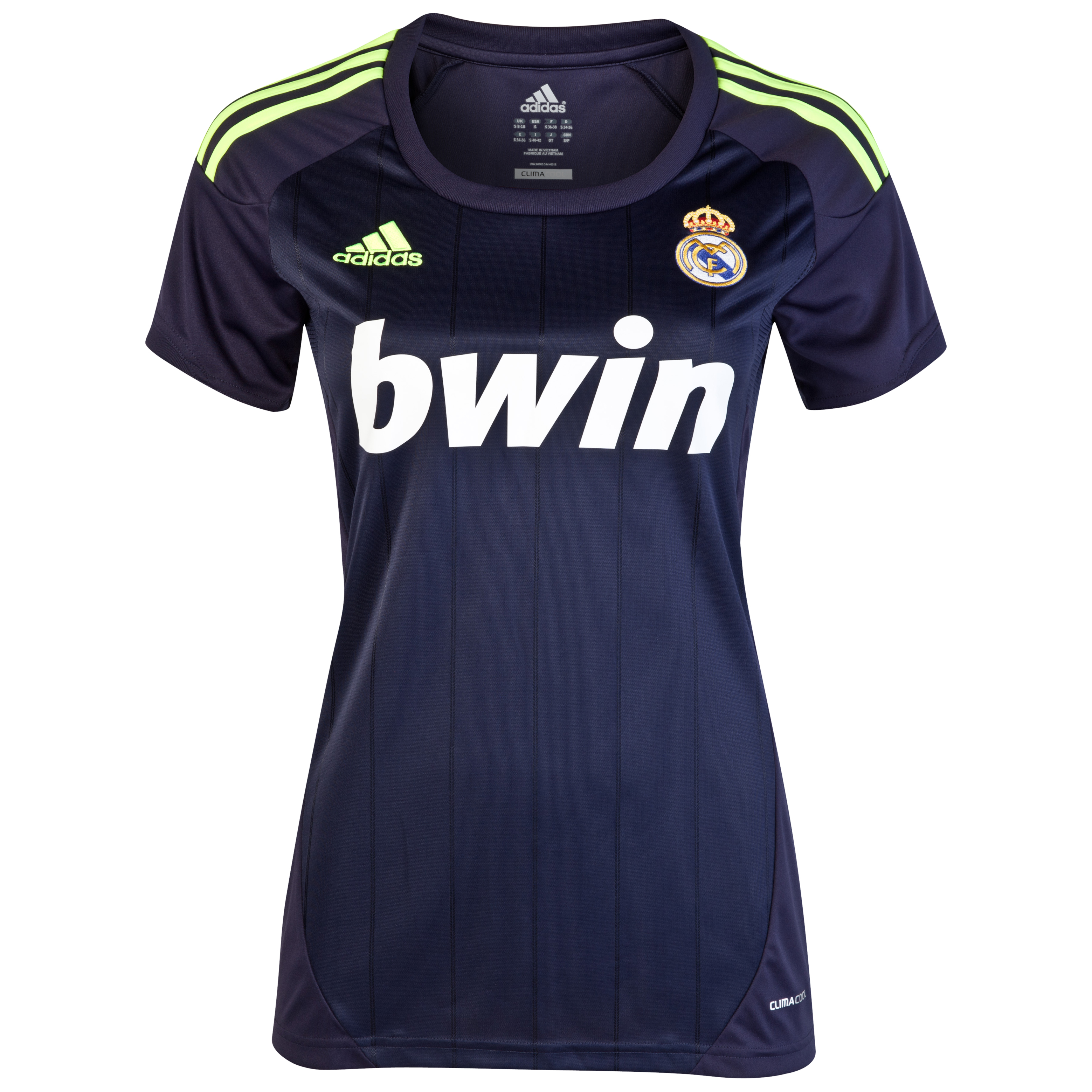 Real Madrid Away Shirt 2012/13 - Womens