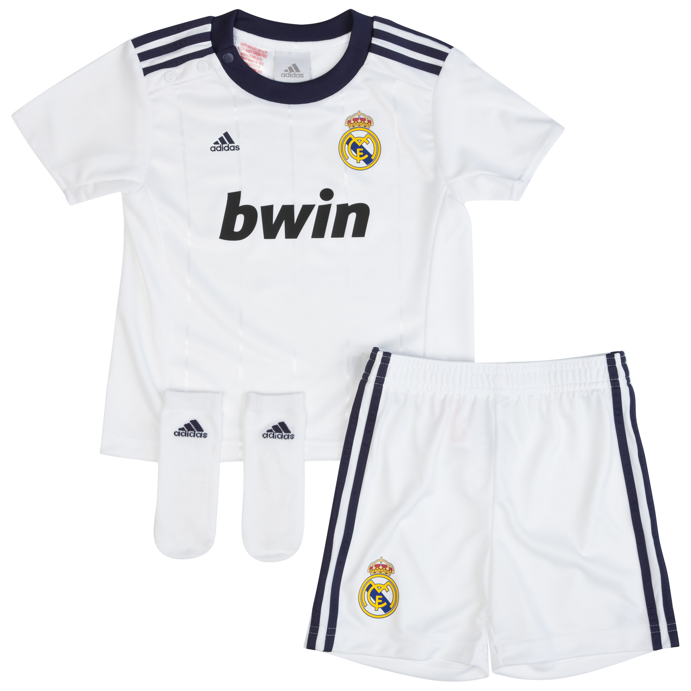Buy Real Madrid Home Baby Kit 2012/13