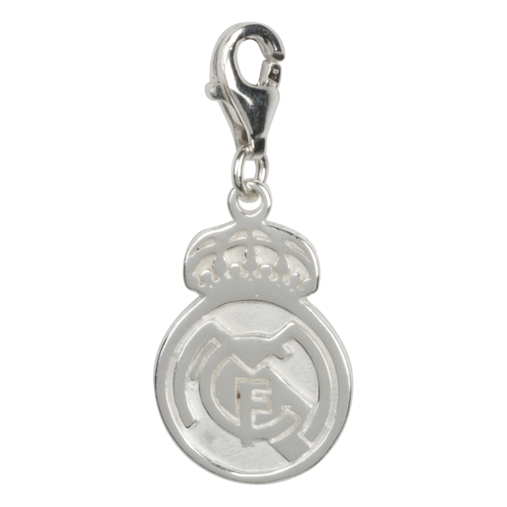 Real Madrid Crest Charm - Silver