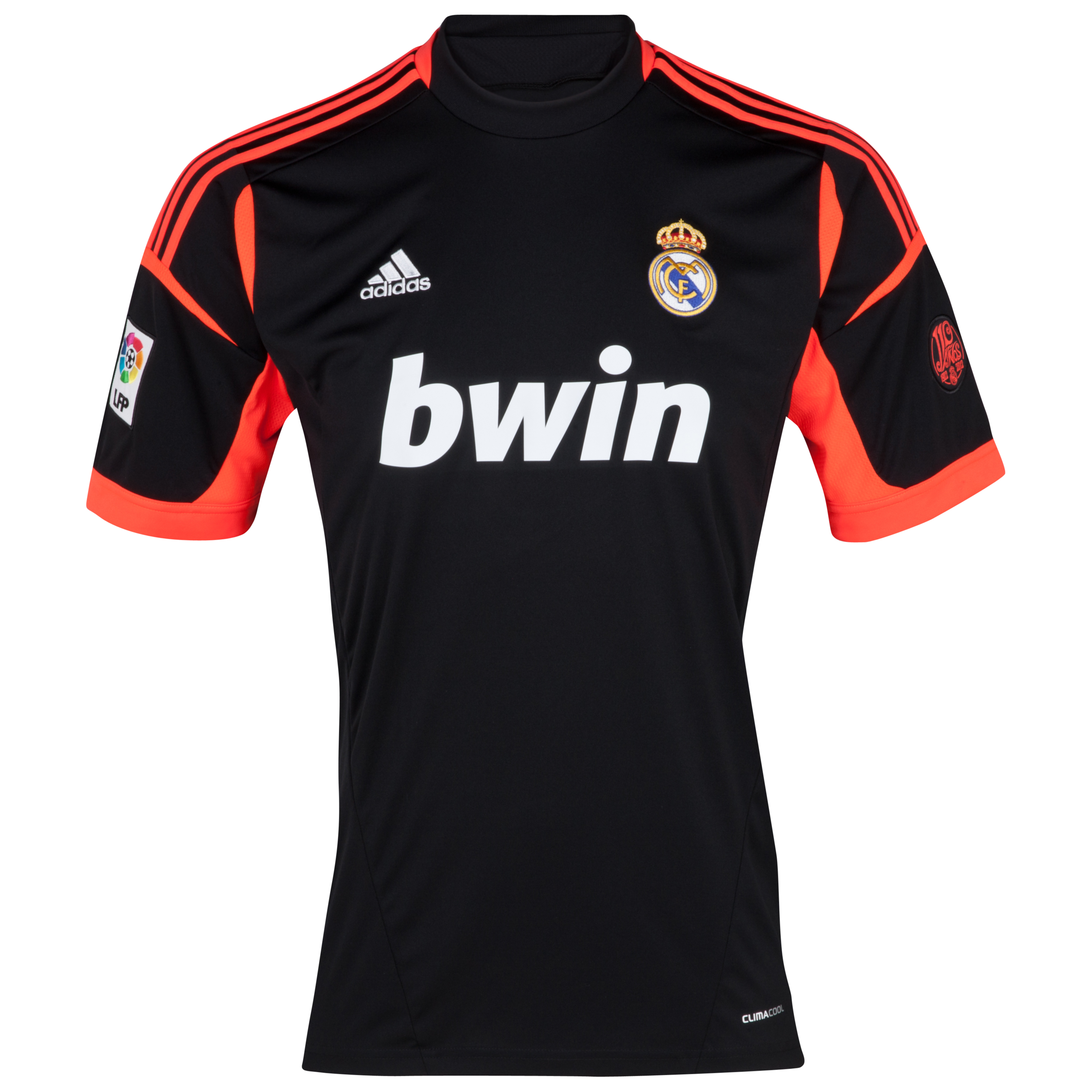 Camiseta 2 Equipacin de Portero del Real Madrid 2012/13 - Negro