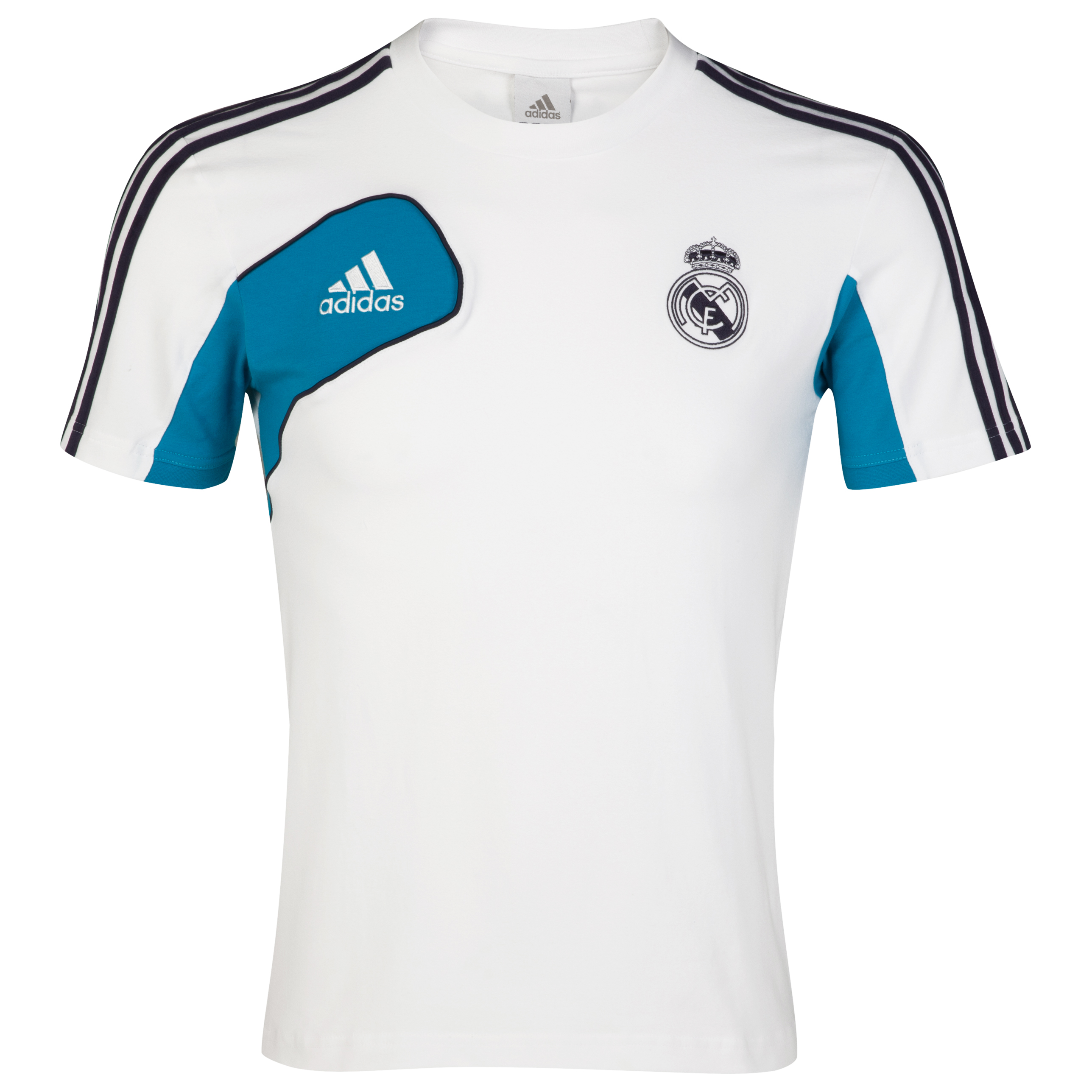 Real Madrid Training T-Shirt - White/Noble Ink - Kids