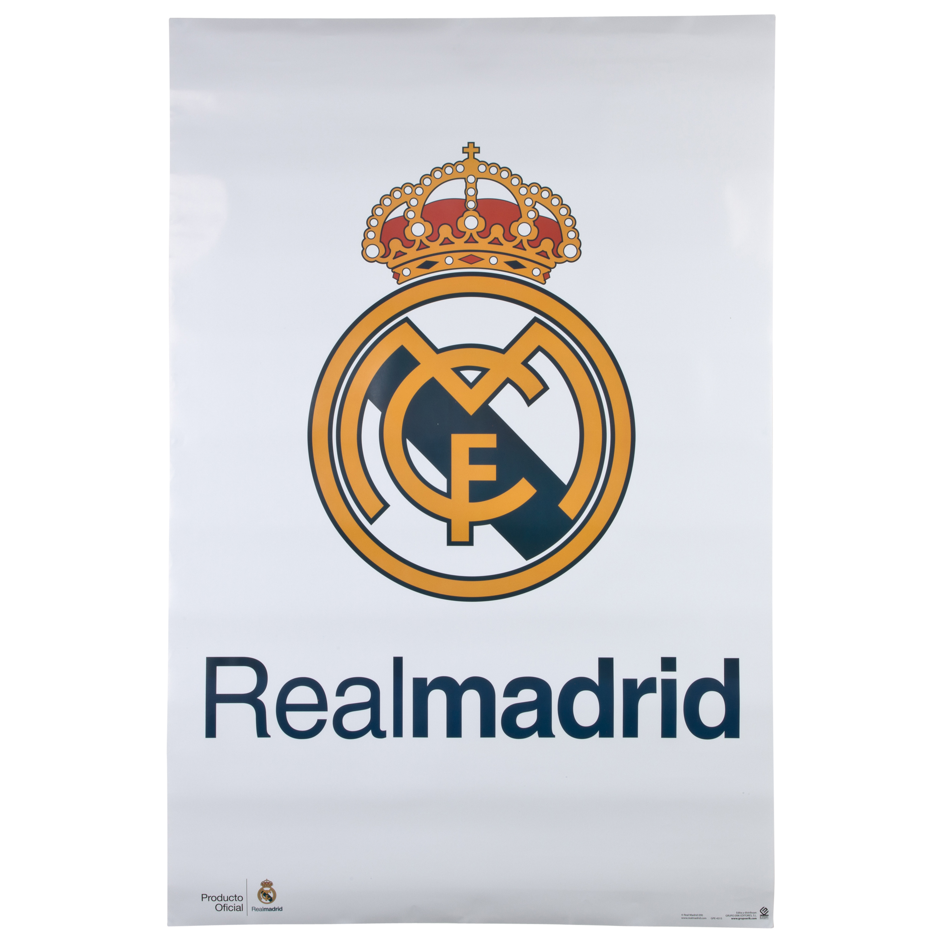 Real Madrid Crest Poster - 61 x 91.5cm